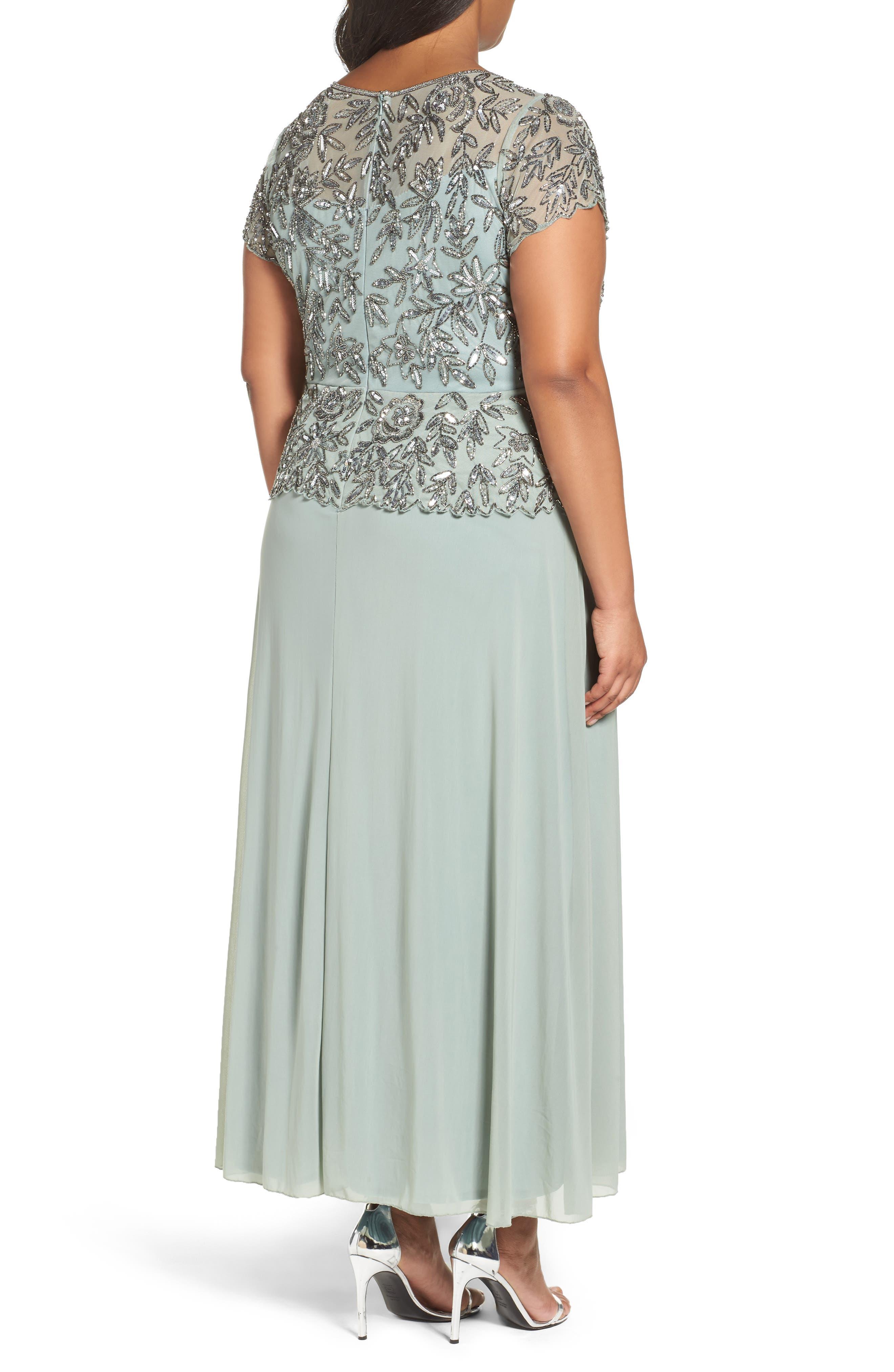 Mock 2-Pc. A-Line Gown,                             Alternate thumbnail 7, color,