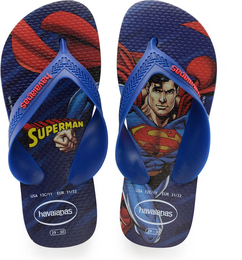 f8a64e1b830 Havaianas  Batman™ - Max Heroes  Flip Flop (Toddler   Little Kid ...