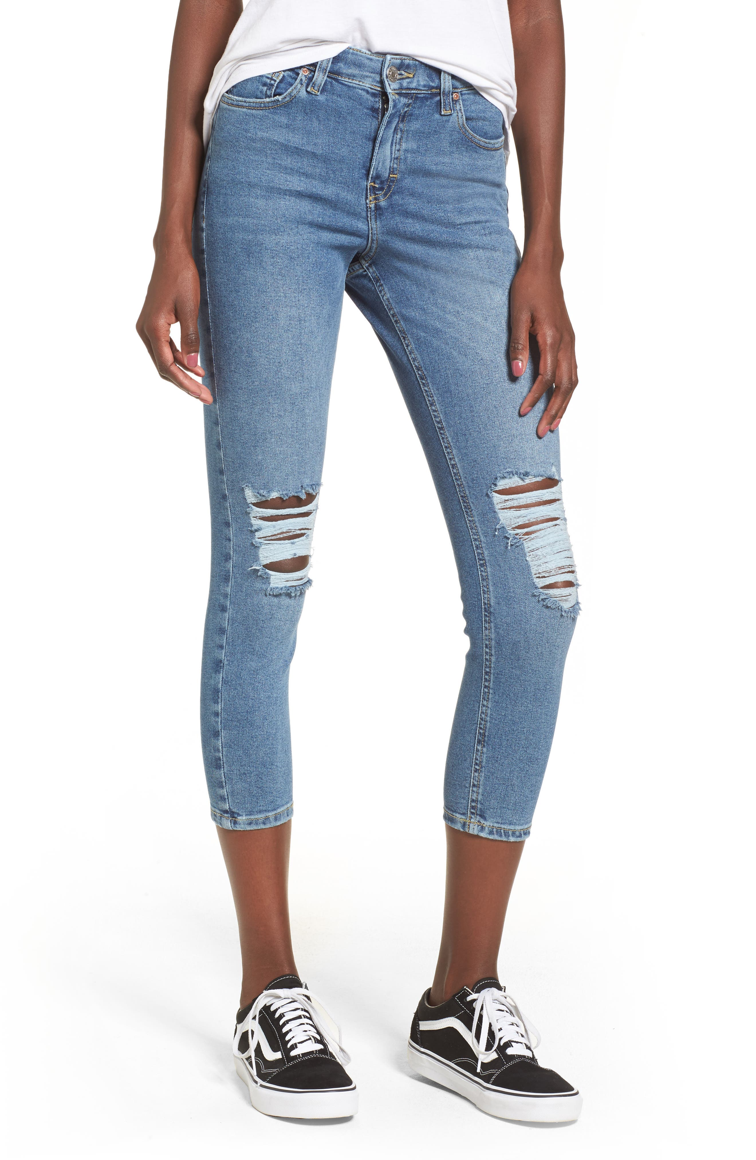 Jamie High Waist Skinny Jeans,                             Main thumbnail 1, color,