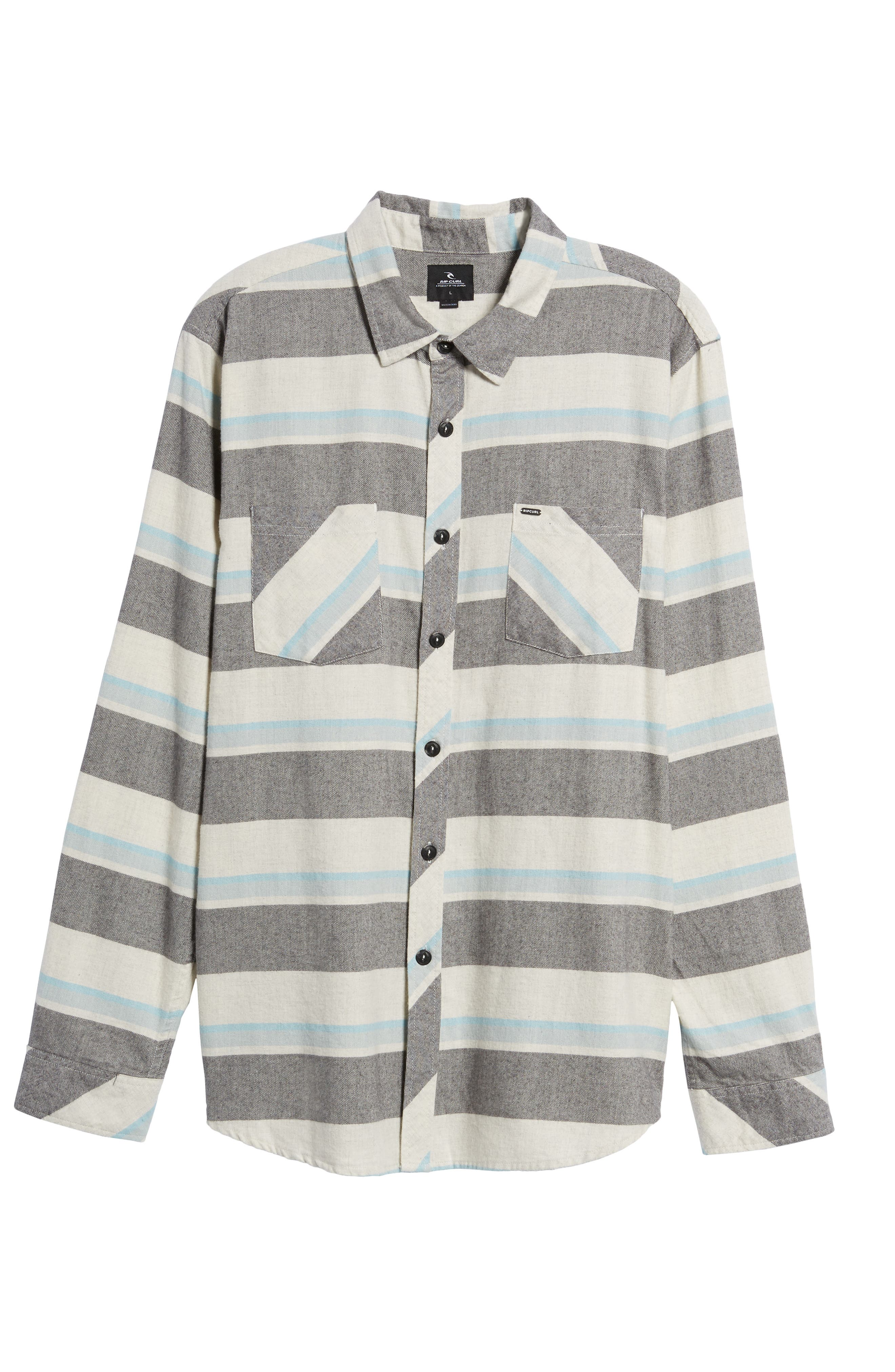 Seager Flannel Shirt,                             Alternate thumbnail 11, color,