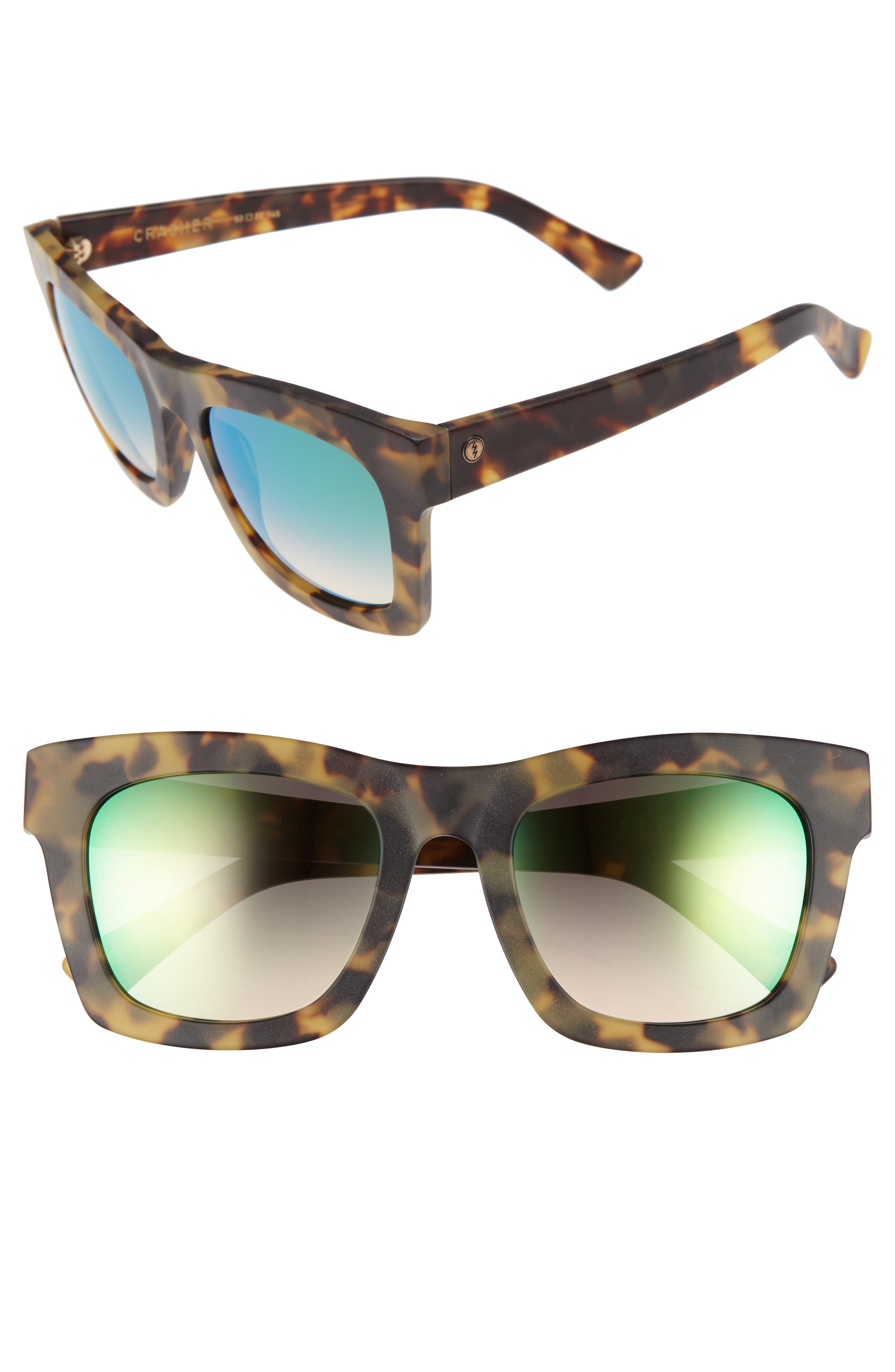 'Crasher' 53mm Retro Sunglasses,                             Main thumbnail 8, color,