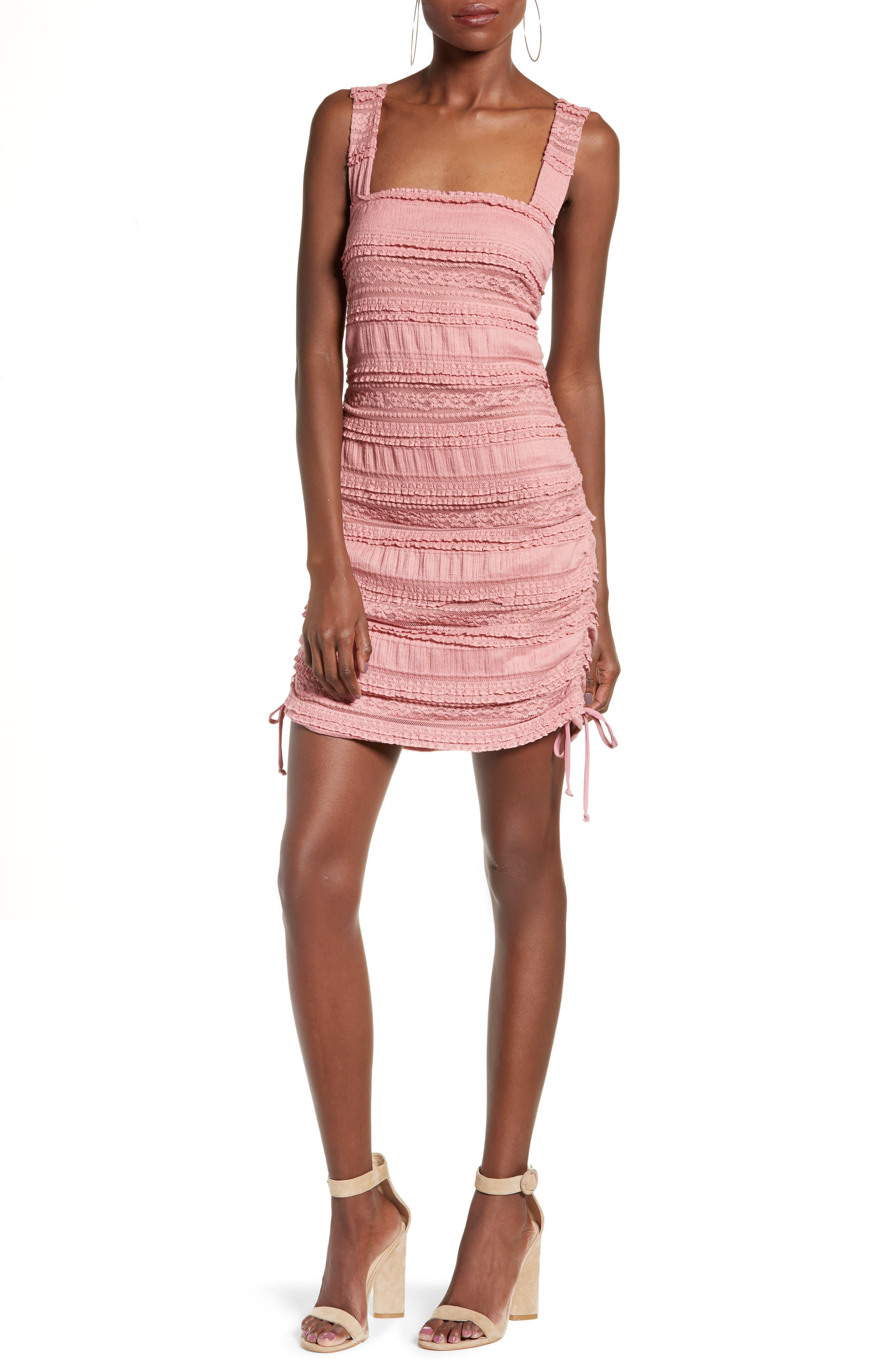 Show Me Your Mumu Dierdre Minidress, Pink