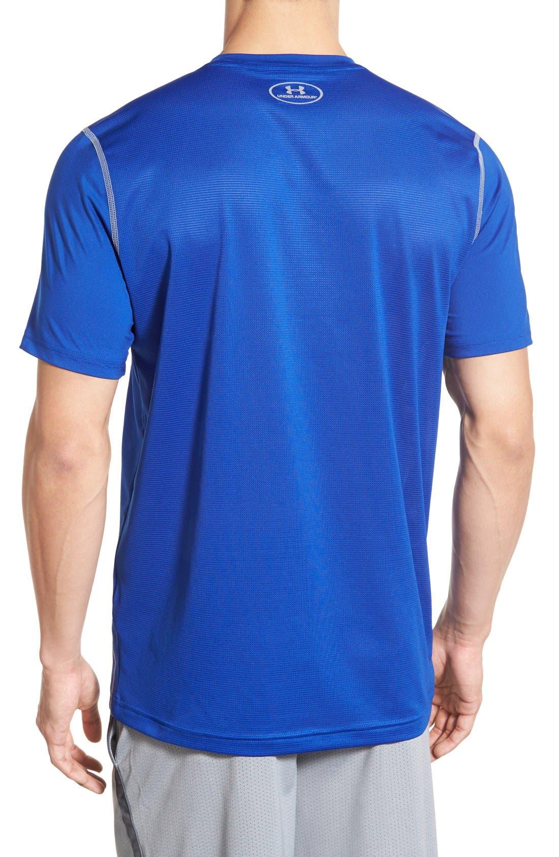 'Raid' HeatGear<sup>®</sup> Training T-Shirt,                             Alternate thumbnail 65, color,