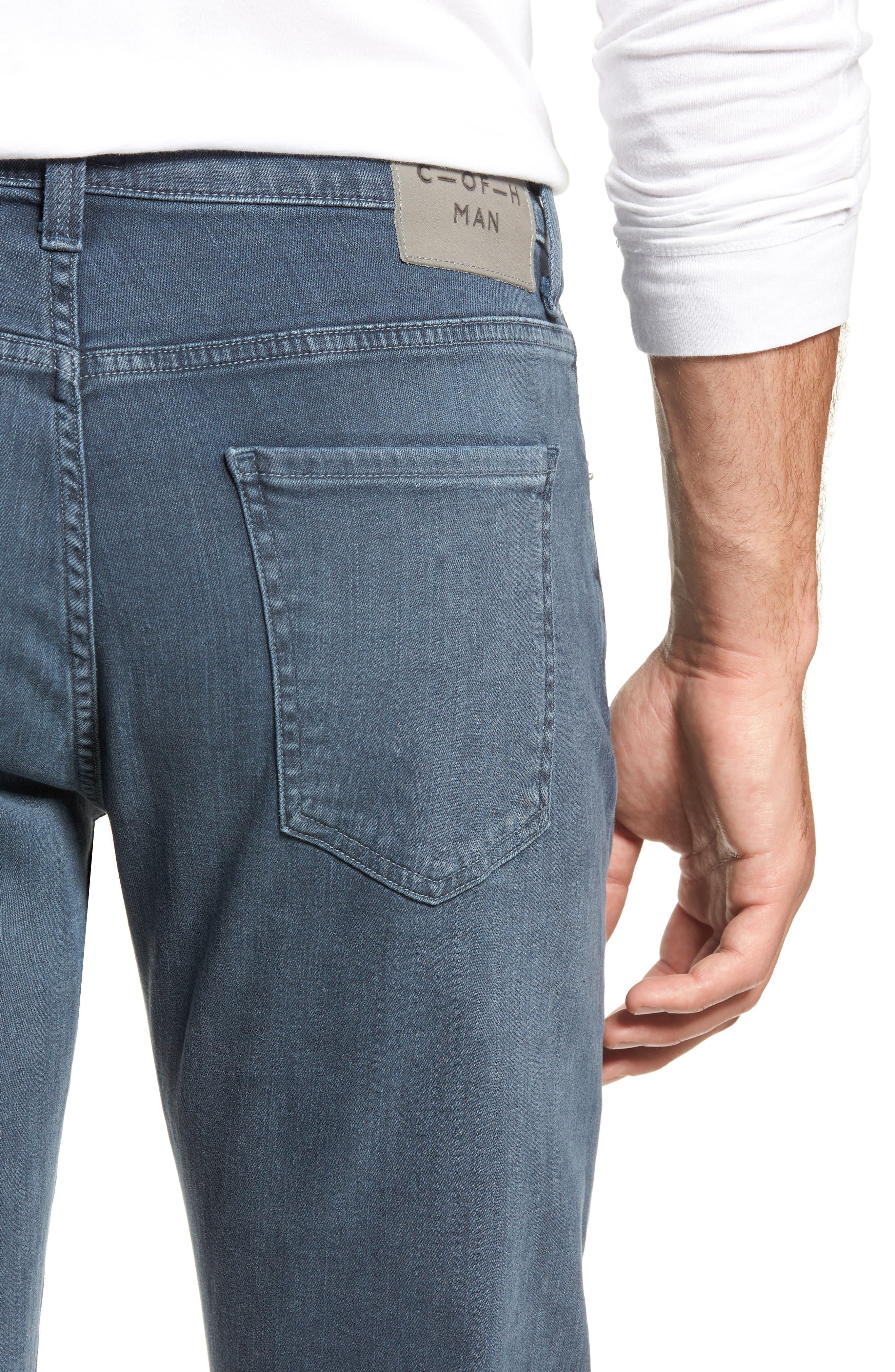 Gage Slim Straight Leg Jeans,                             Alternate thumbnail 4, color,                             SORRENTO