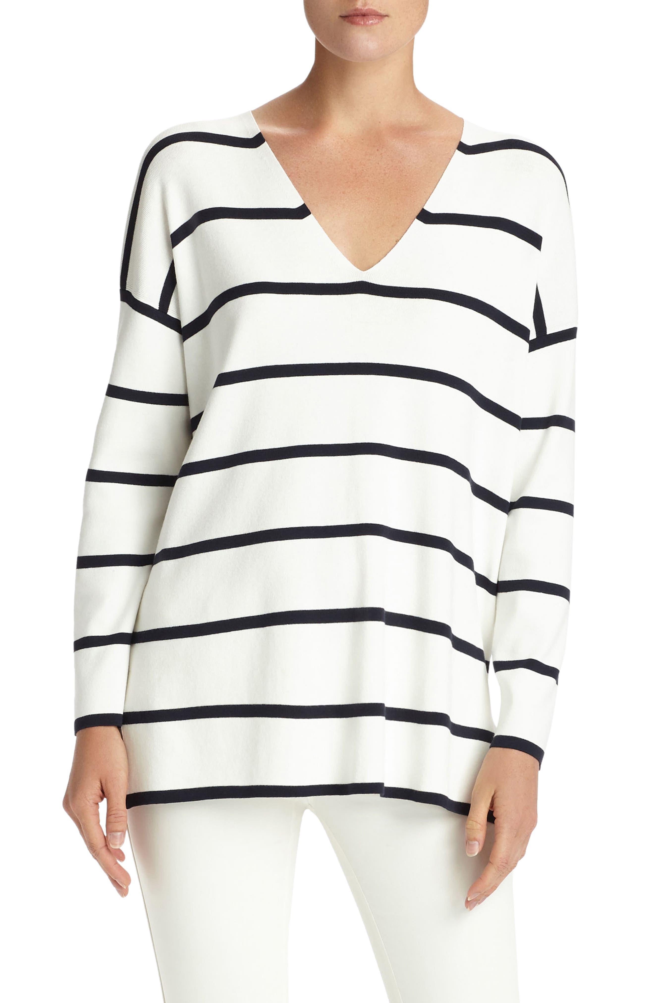 Stripe Sweater,                             Main thumbnail 1, color,                             141