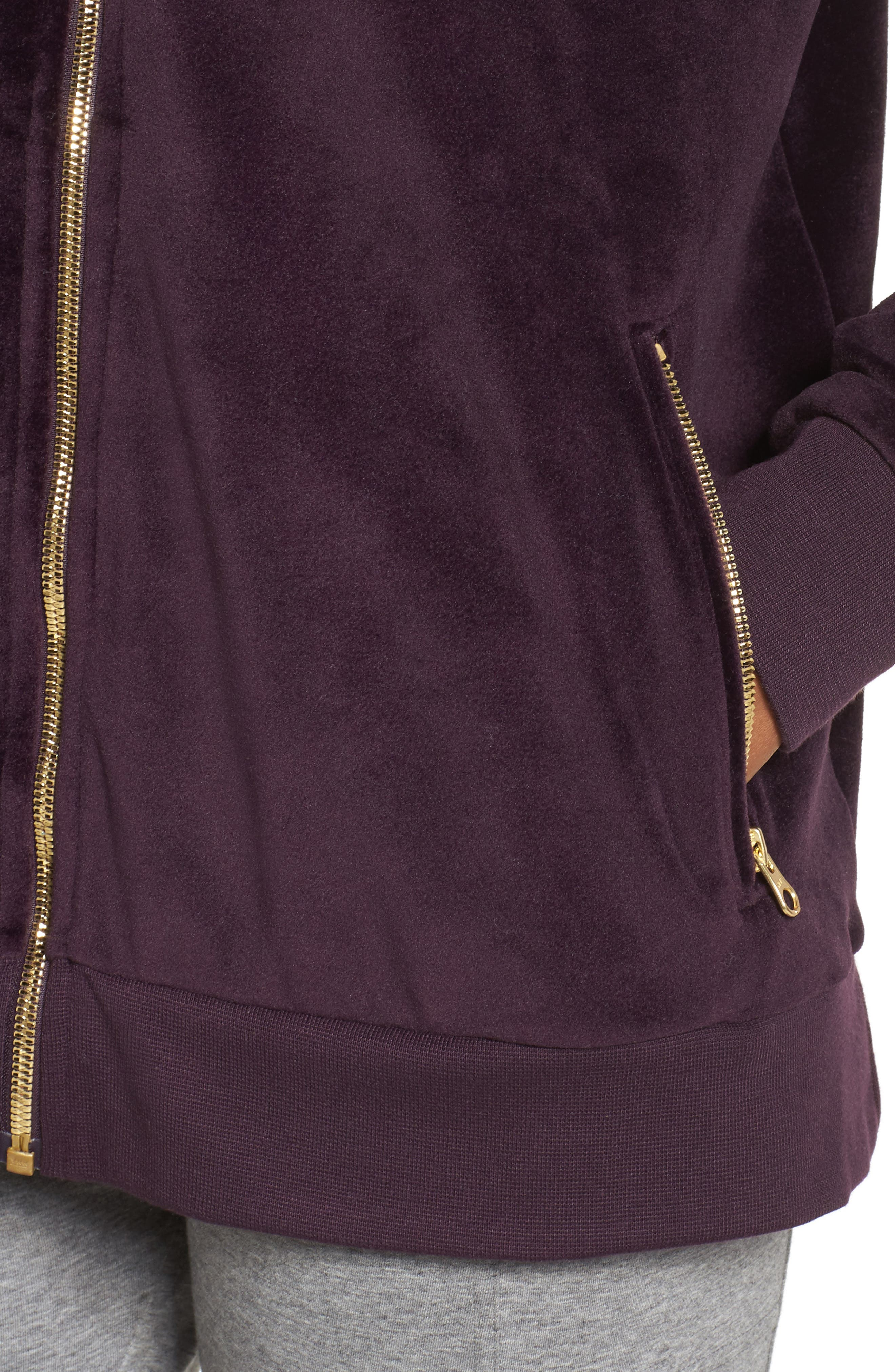 Velour Jacket,                             Alternate thumbnail 9, color,