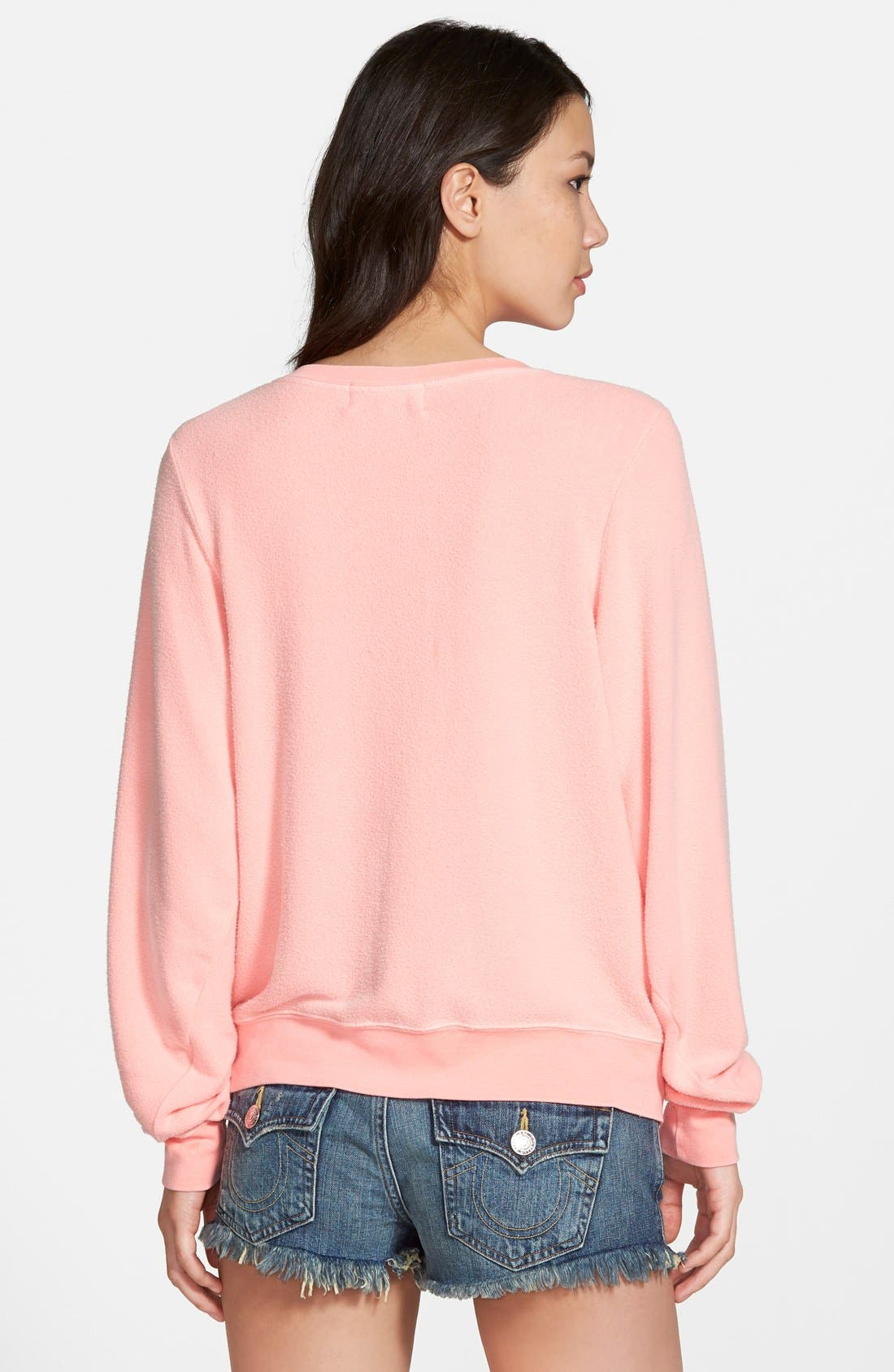 'Baggy Beach Jumper' Pullover,                             Alternate thumbnail 83, color,