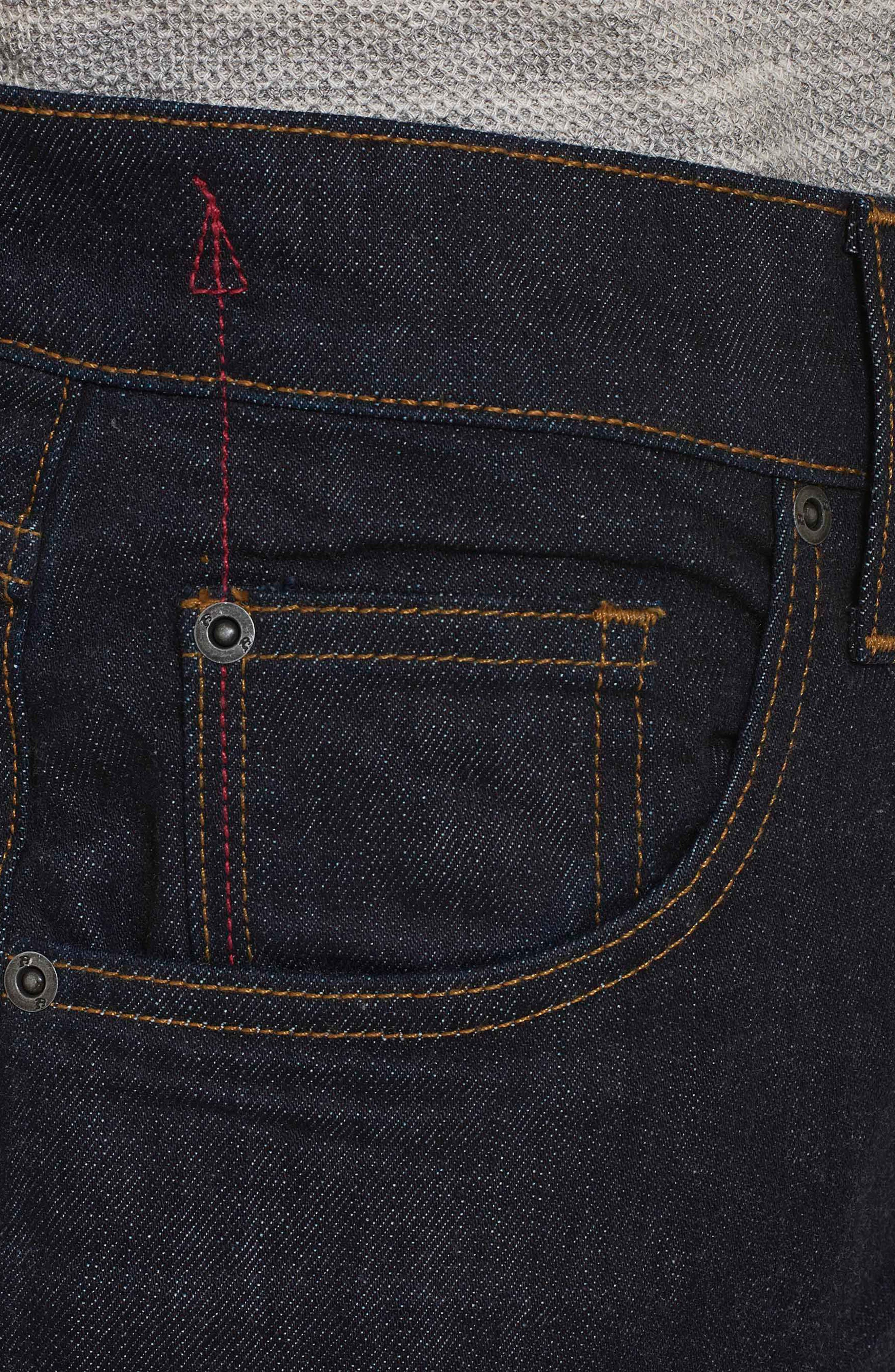 Resist Tailored Fit Jeans,                             Alternate thumbnail 4, color,                             405