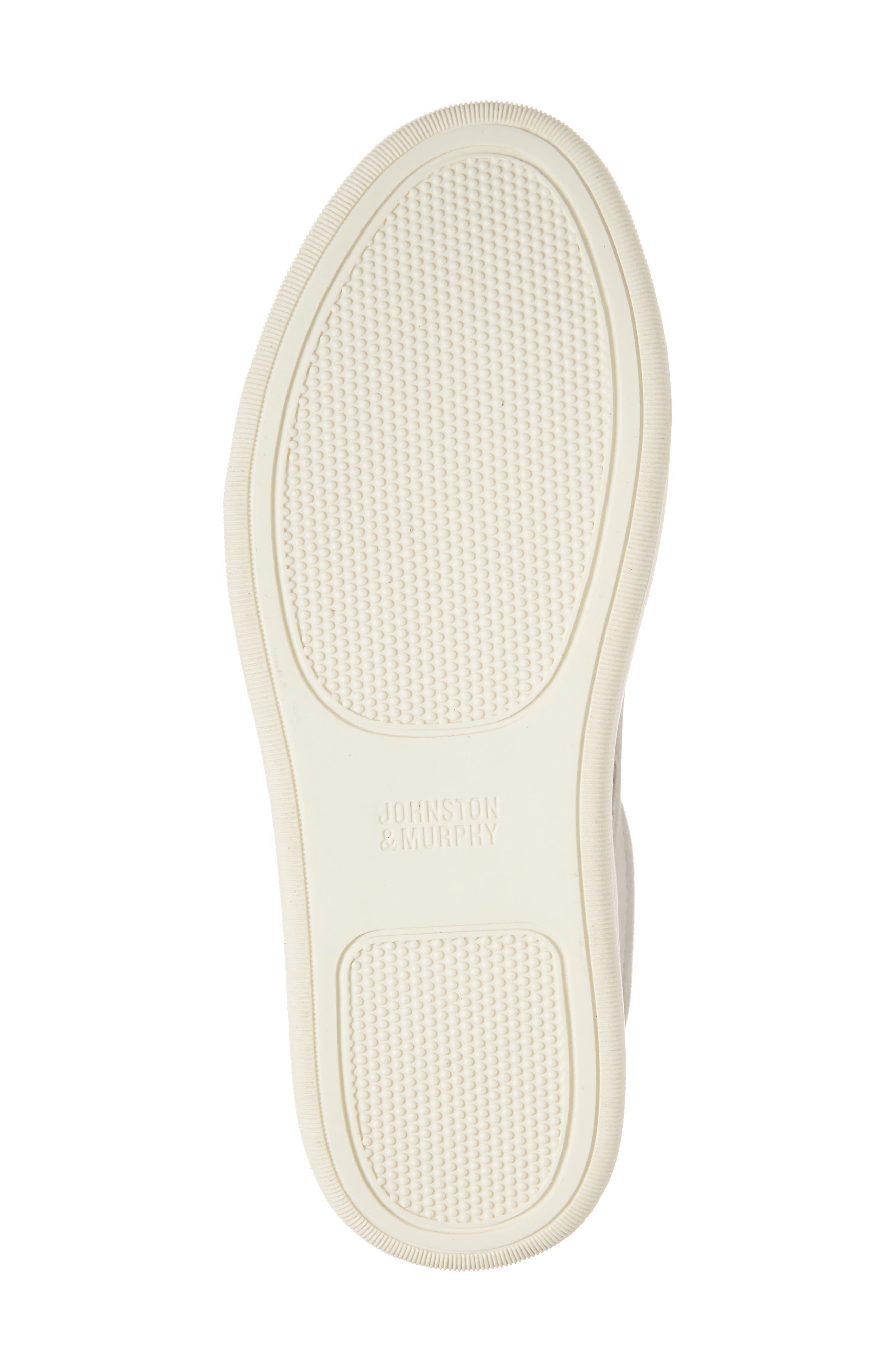 Elaine Woven Slip-On Sneaker,                             Alternate thumbnail 6, color,                             GREY SUEDE