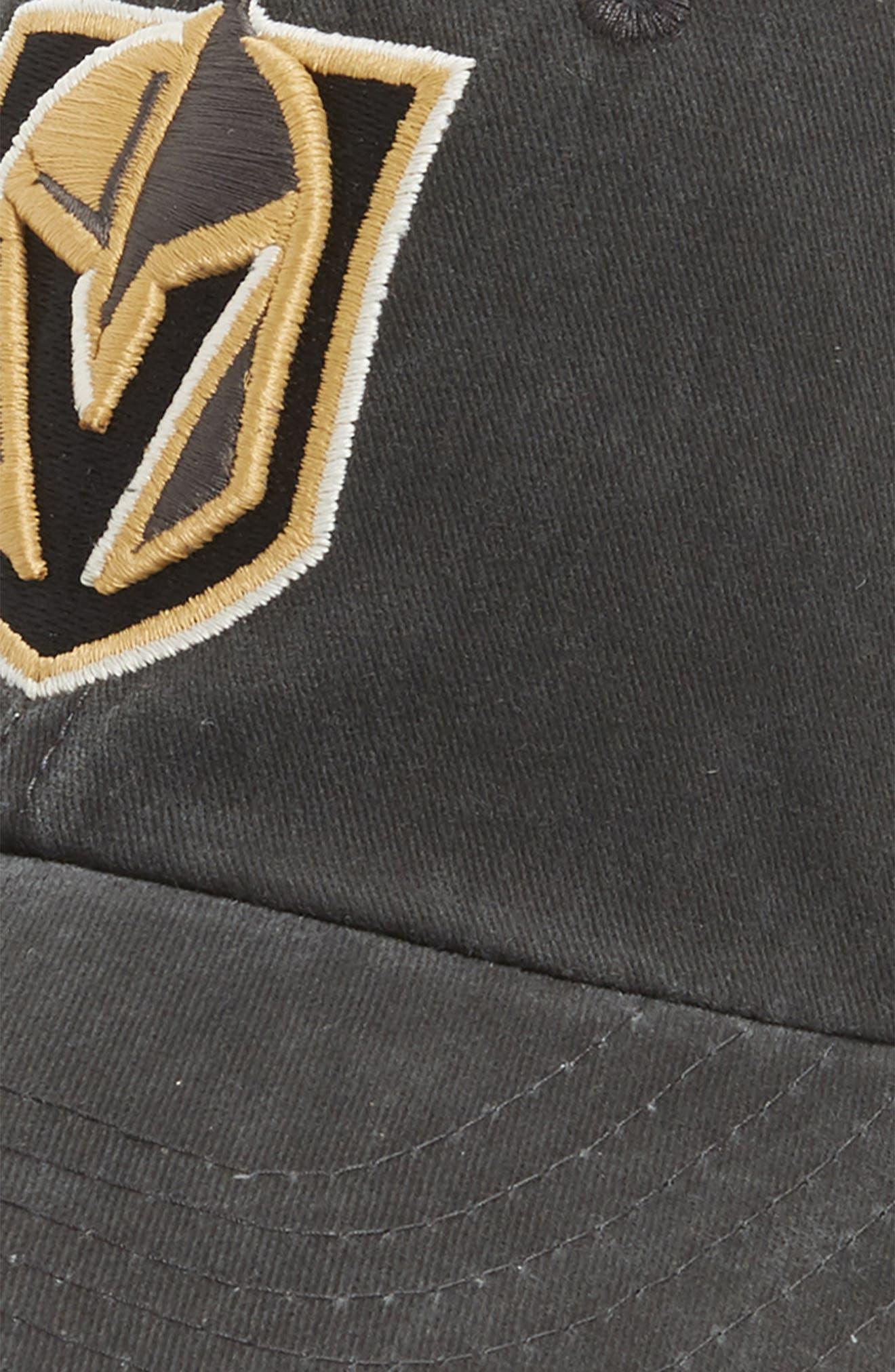 New Raglan Las Vegas Golden Knights Baseball Cap,                             Alternate thumbnail 4, color,                             GOLDEN KNIGHTS