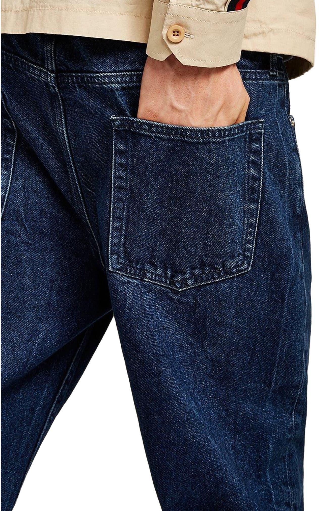 Original Fit Jeans,                             Alternate thumbnail 3, color,                             BLUE