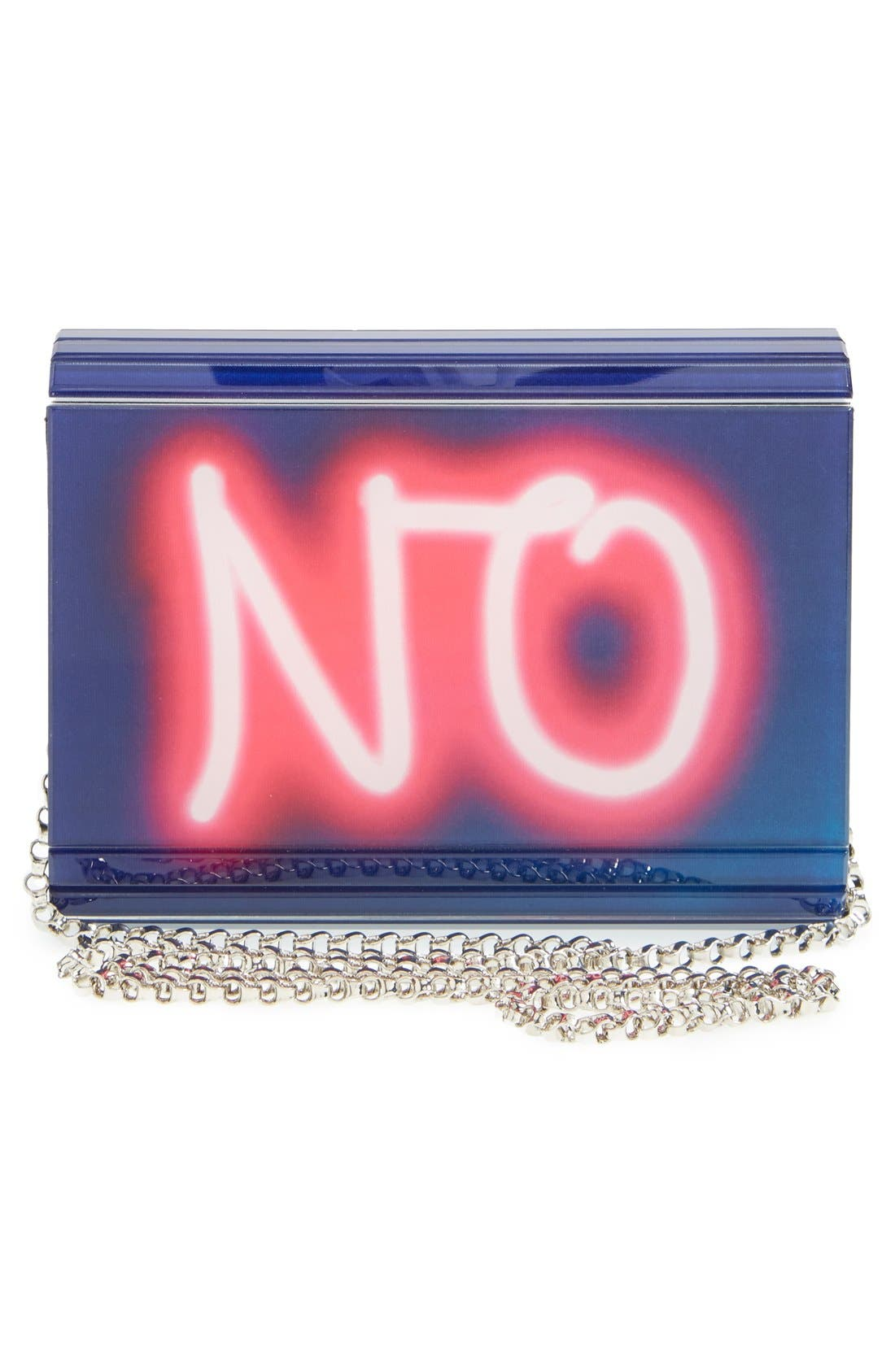JIMMY CHOO,                             'Candy' Clutch,                             Alternate thumbnail 5, color,                             400