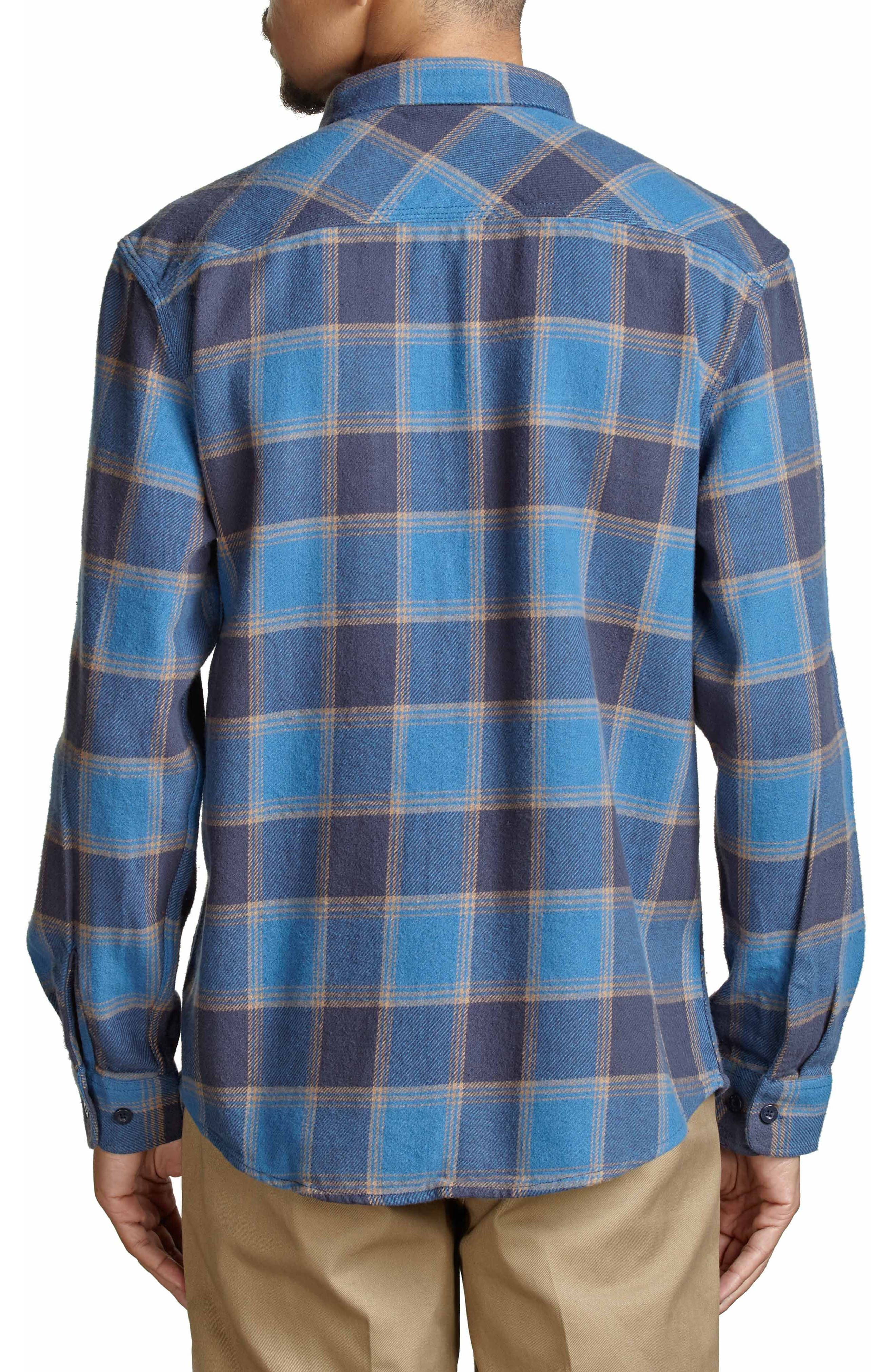Bowery Flannel Shirt,                             Alternate thumbnail 19, color,