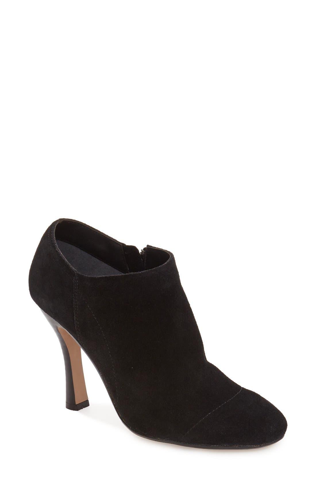 Nina 'Iolathe' Flared Heel Bootie,                         Main,                         color, 008