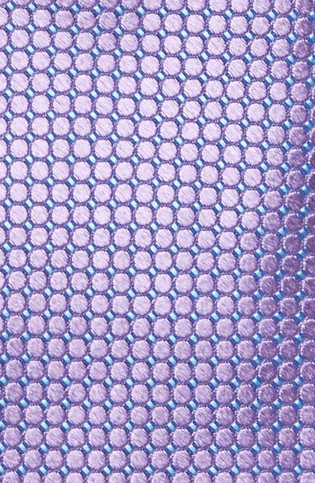 Dot Grid Silk Tie,                             Alternate thumbnail 2, color,                             541