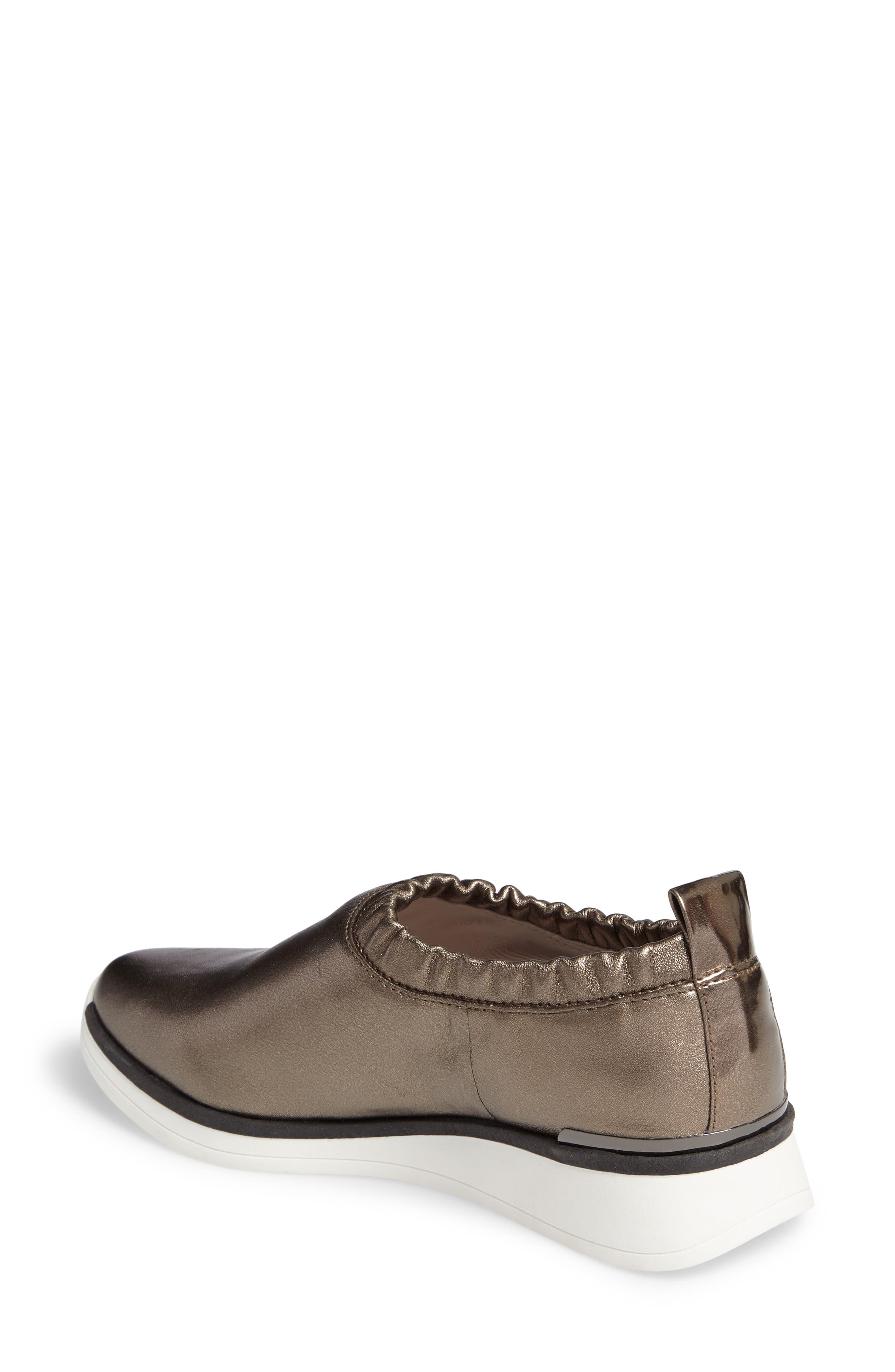 Brogen Slip-On Sneaker,                             Alternate thumbnail 4, color,