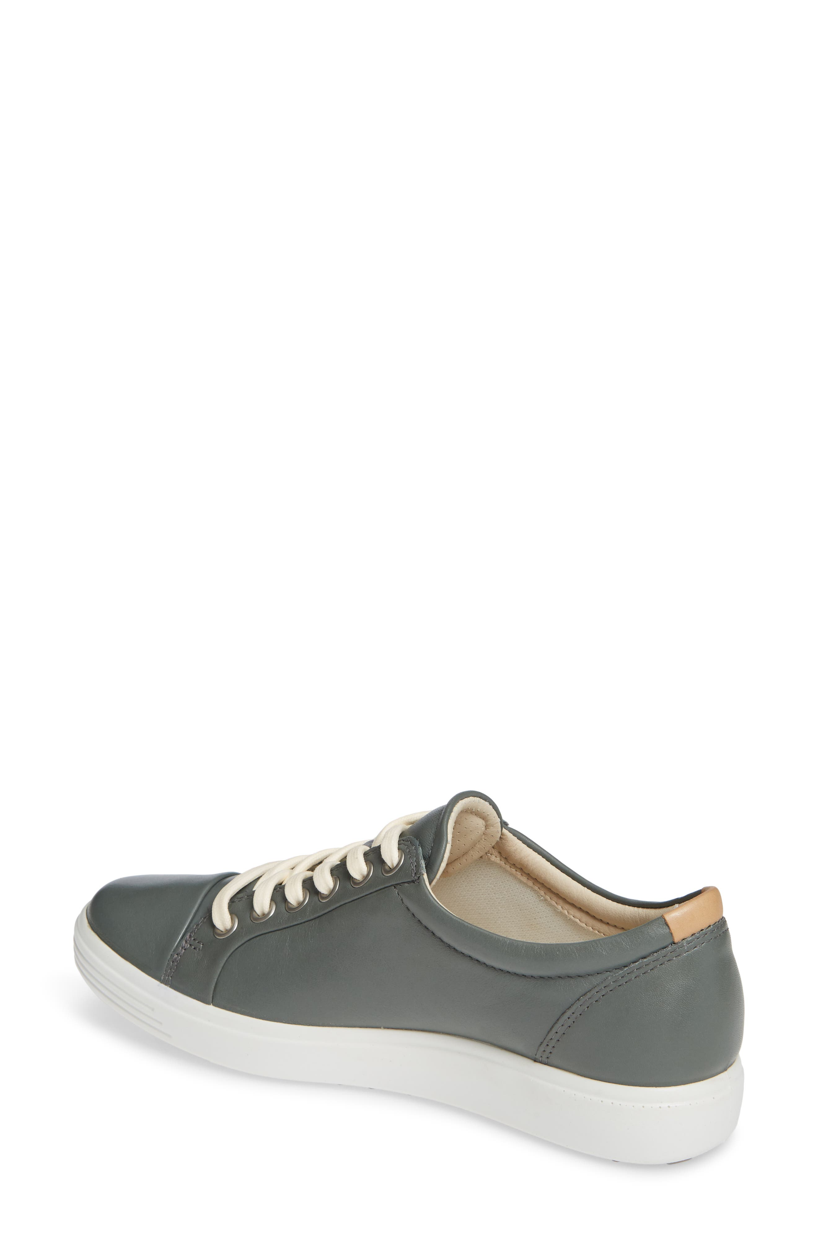 Soft 7 Sneaker,                             Alternate thumbnail 2, color,                             MOON LEATHER