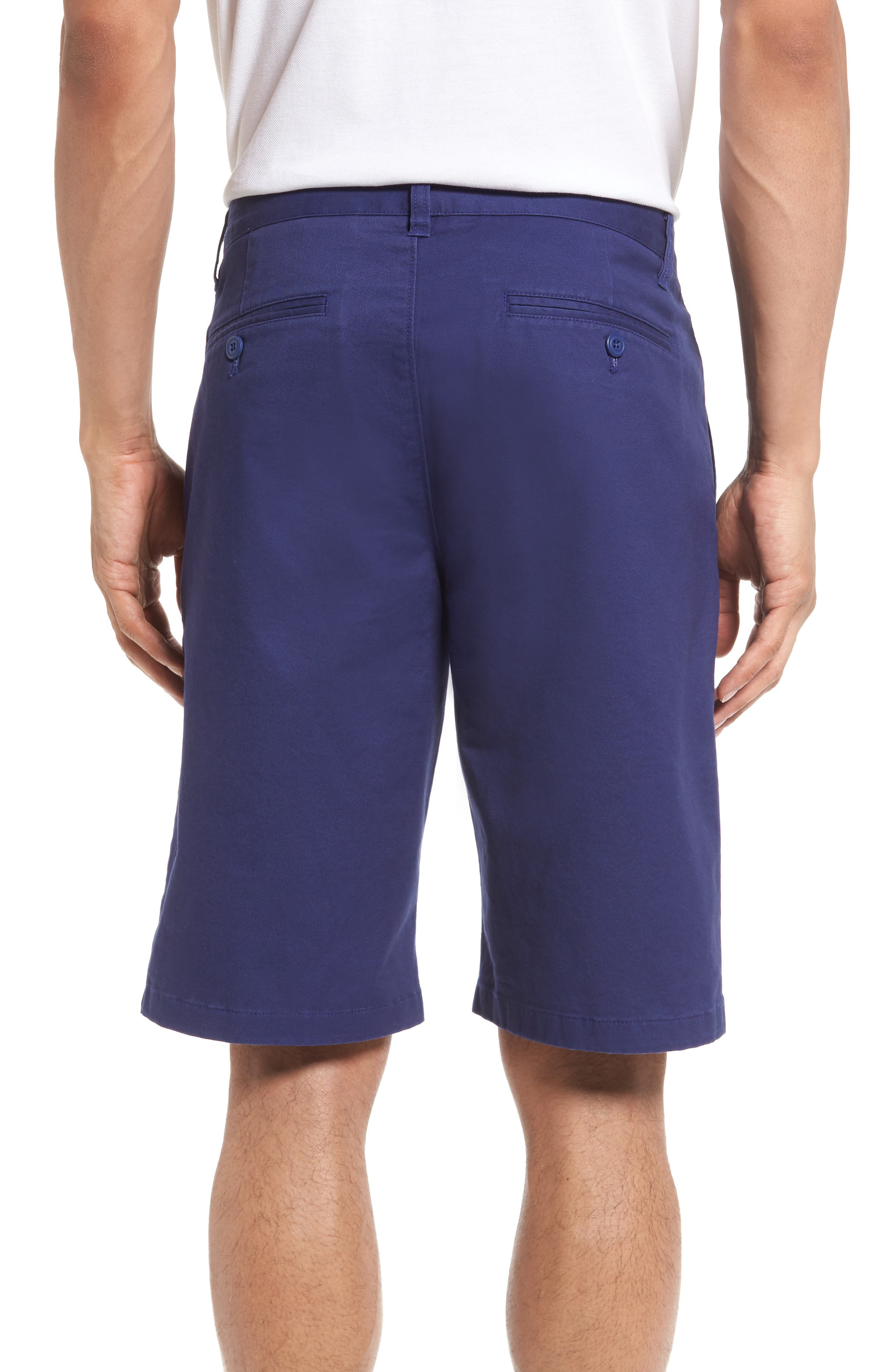 Stretch Washed Chino 11-Inch Shorts,                             Alternate thumbnail 19, color,