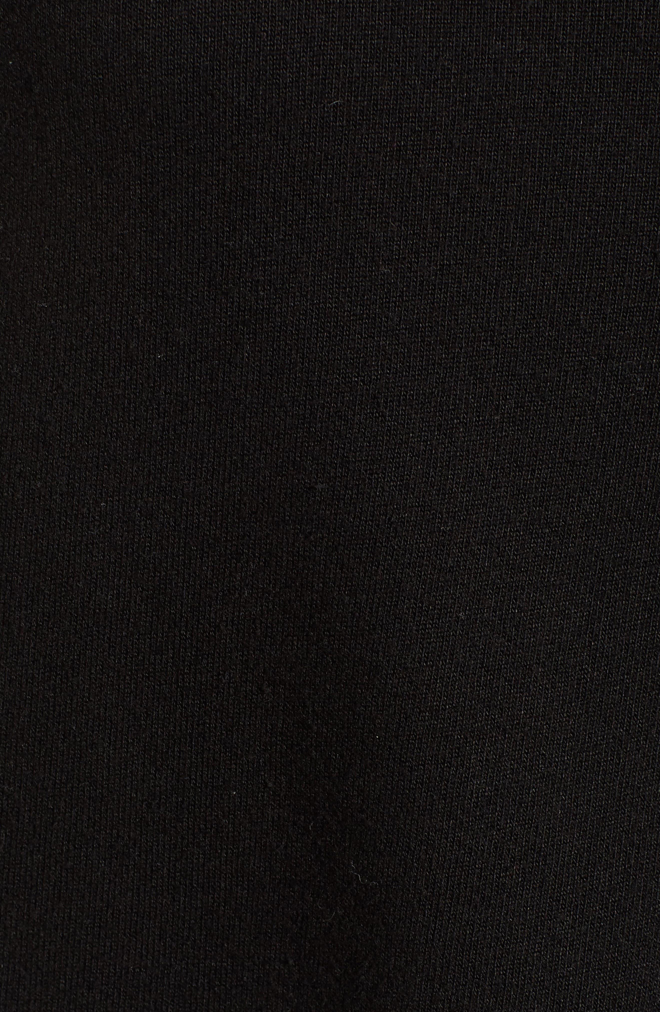 Helix Turtleneck Sweatshirt,                             Alternate thumbnail 5, color,                             001