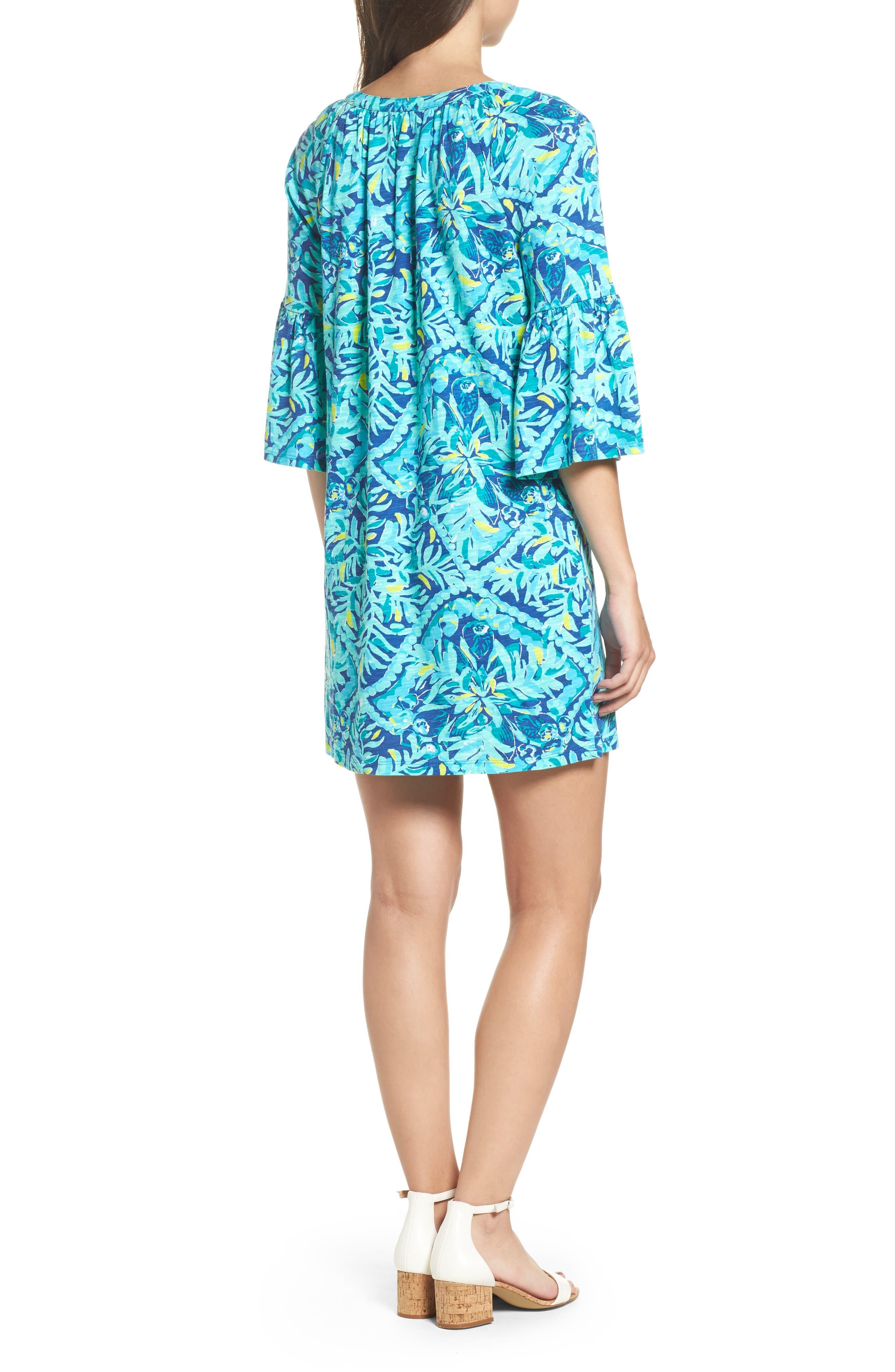 Del Lago Tunic Dress,                             Alternate thumbnail 2, color,