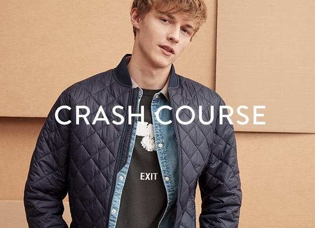 Men's Crash Course: Bomber Jackets