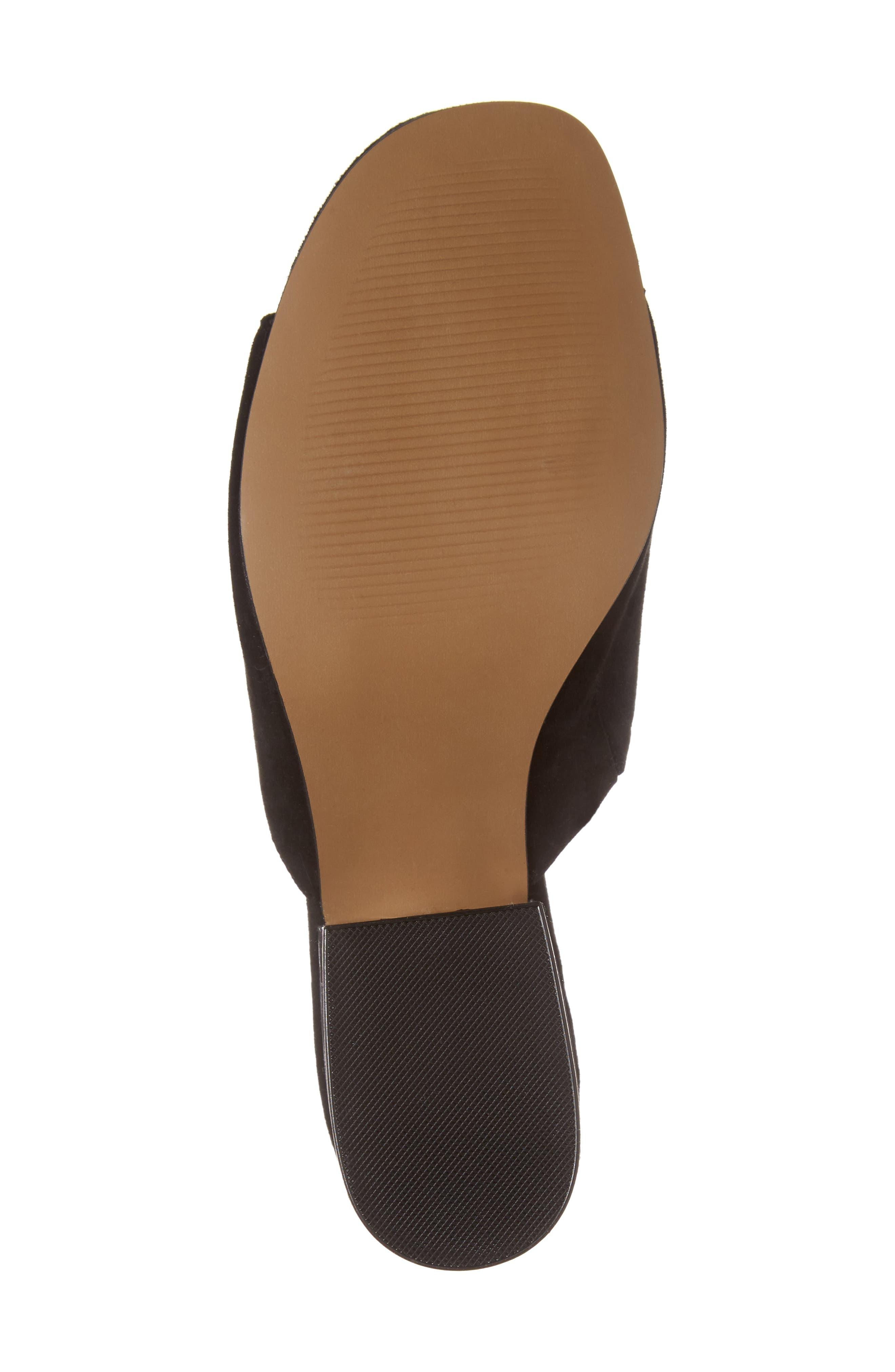 Dalis Clear Heel Slide Sandal,                             Alternate thumbnail 6, color,                             006