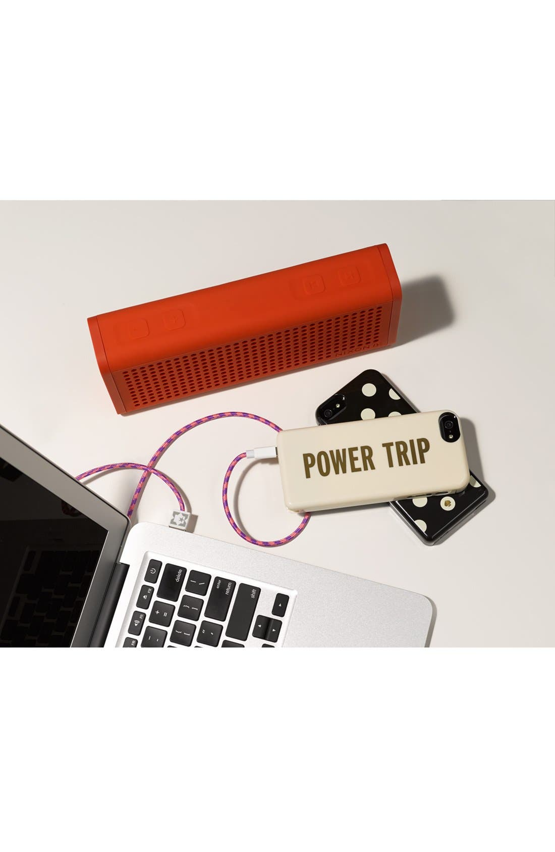 'power trip' iPhone 5 case & portable charger,                             Alternate thumbnail 2, color,                             101