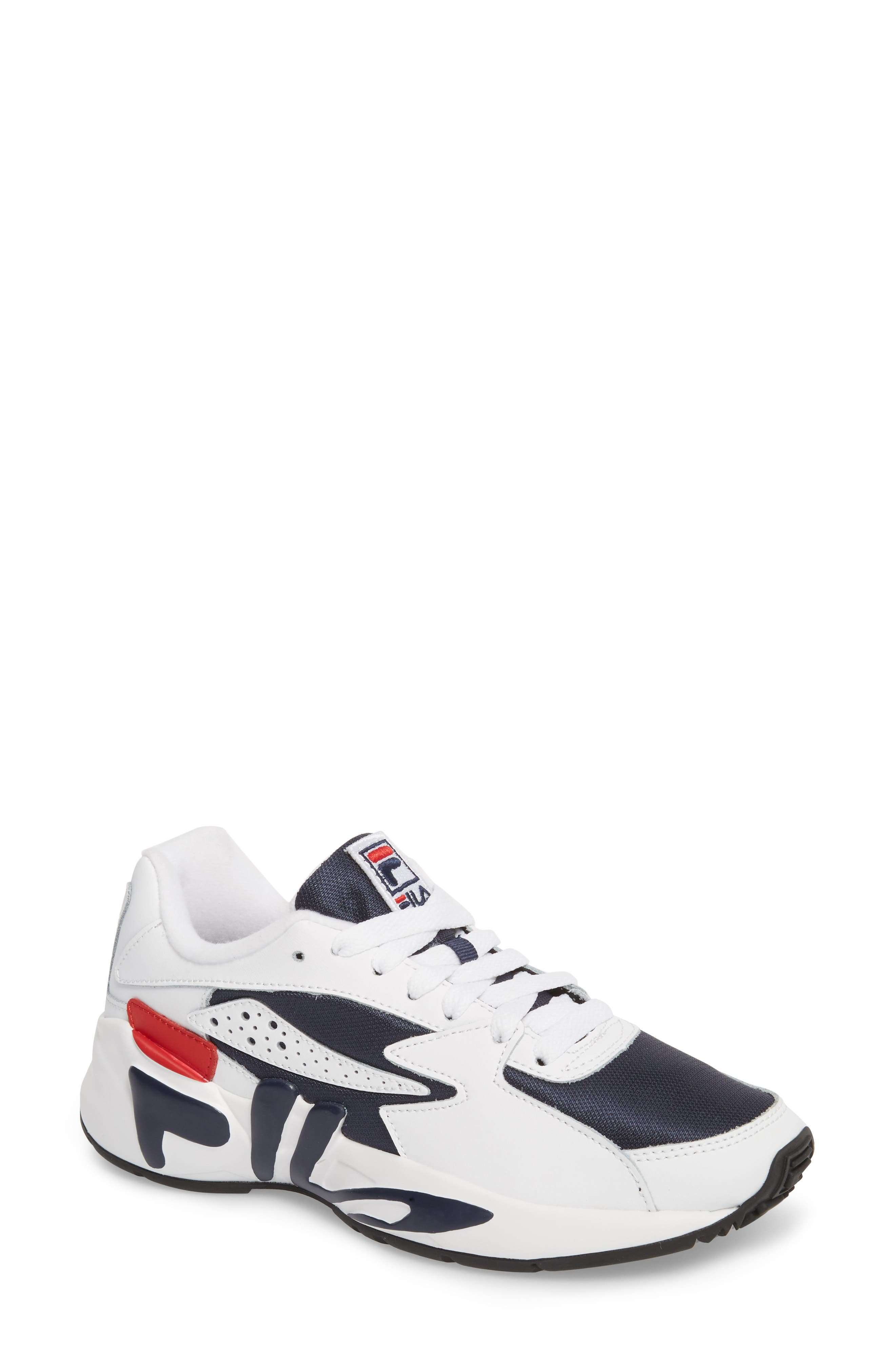 Mindblower Shoe,                             Main thumbnail 1, color,                             WHT/ FNVY/ FRED