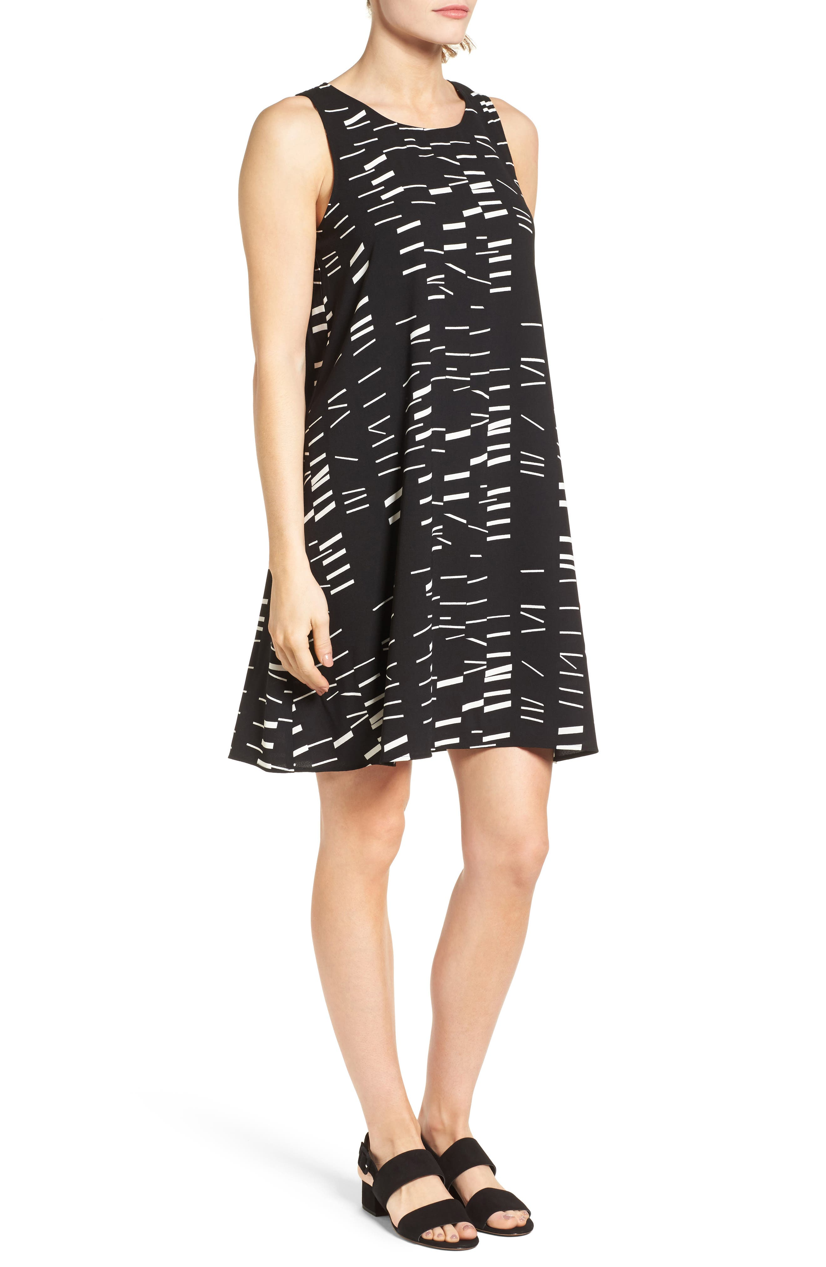 A-Line Dress,                             Alternate thumbnail 73, color,