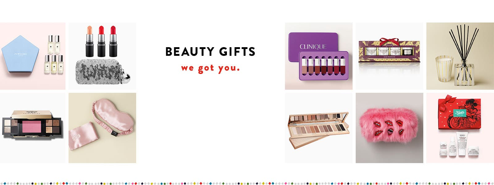Beauty gifts, we got you.