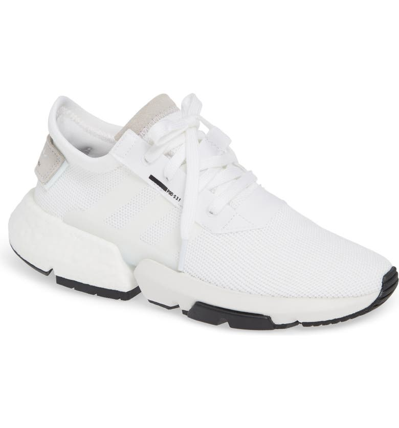 Casual S3 Shoes Adidas 1 Pod Women's White Originals CqwqtX