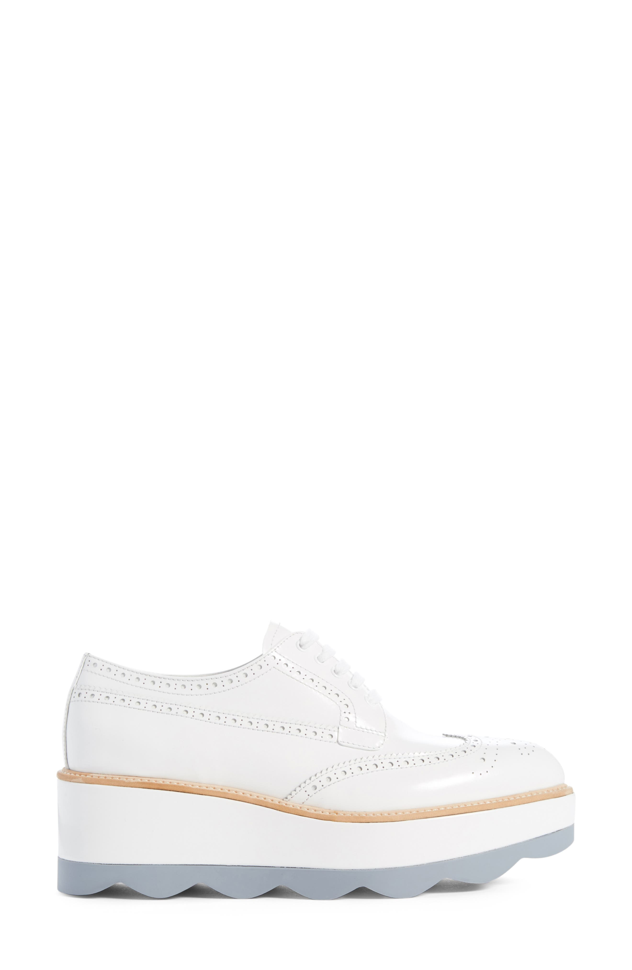 Scalloped Platform Oxford,                             Alternate thumbnail 20, color,