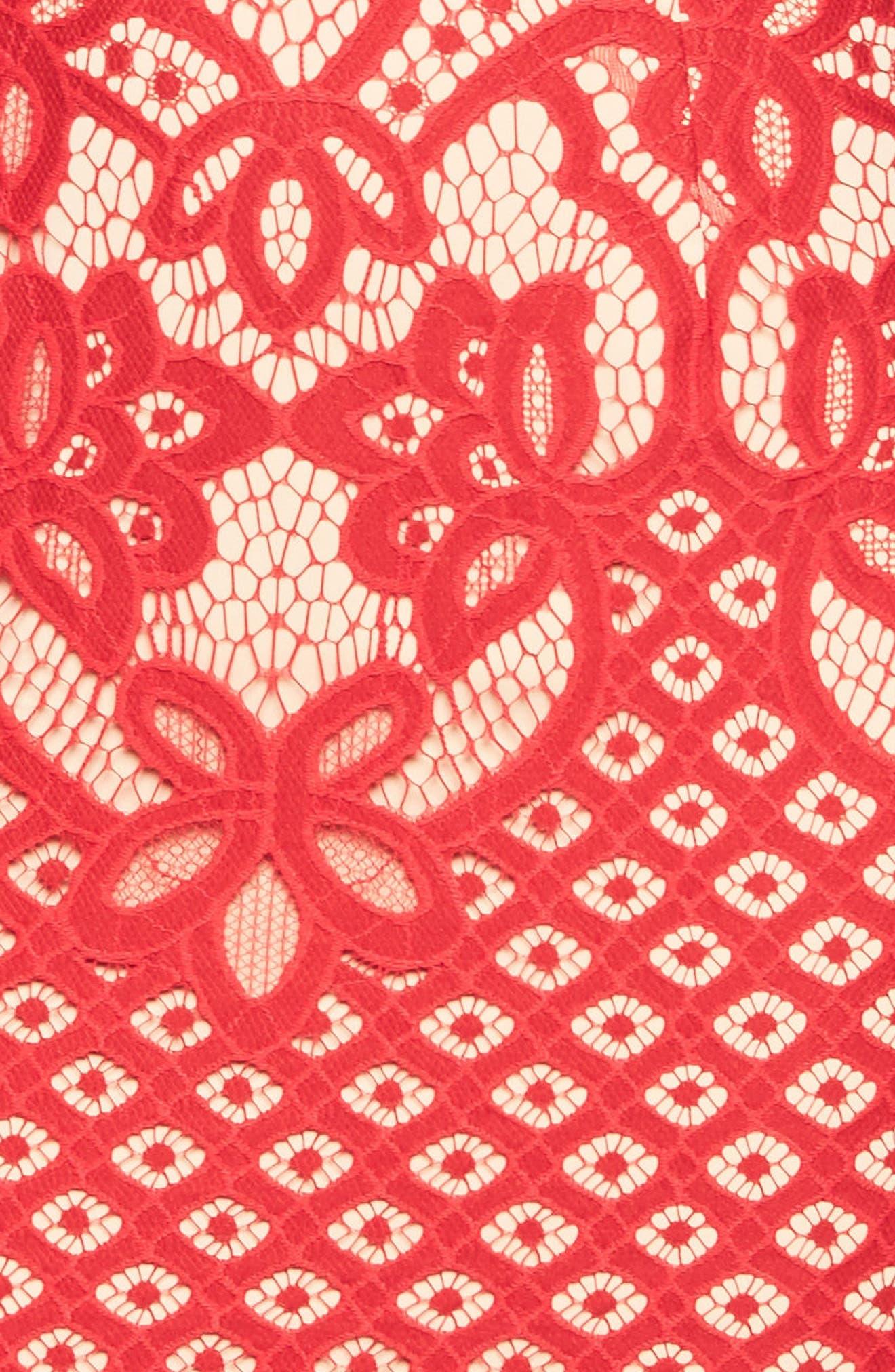 Mila Lace Dress,                             Alternate thumbnail 5, color,                             620
