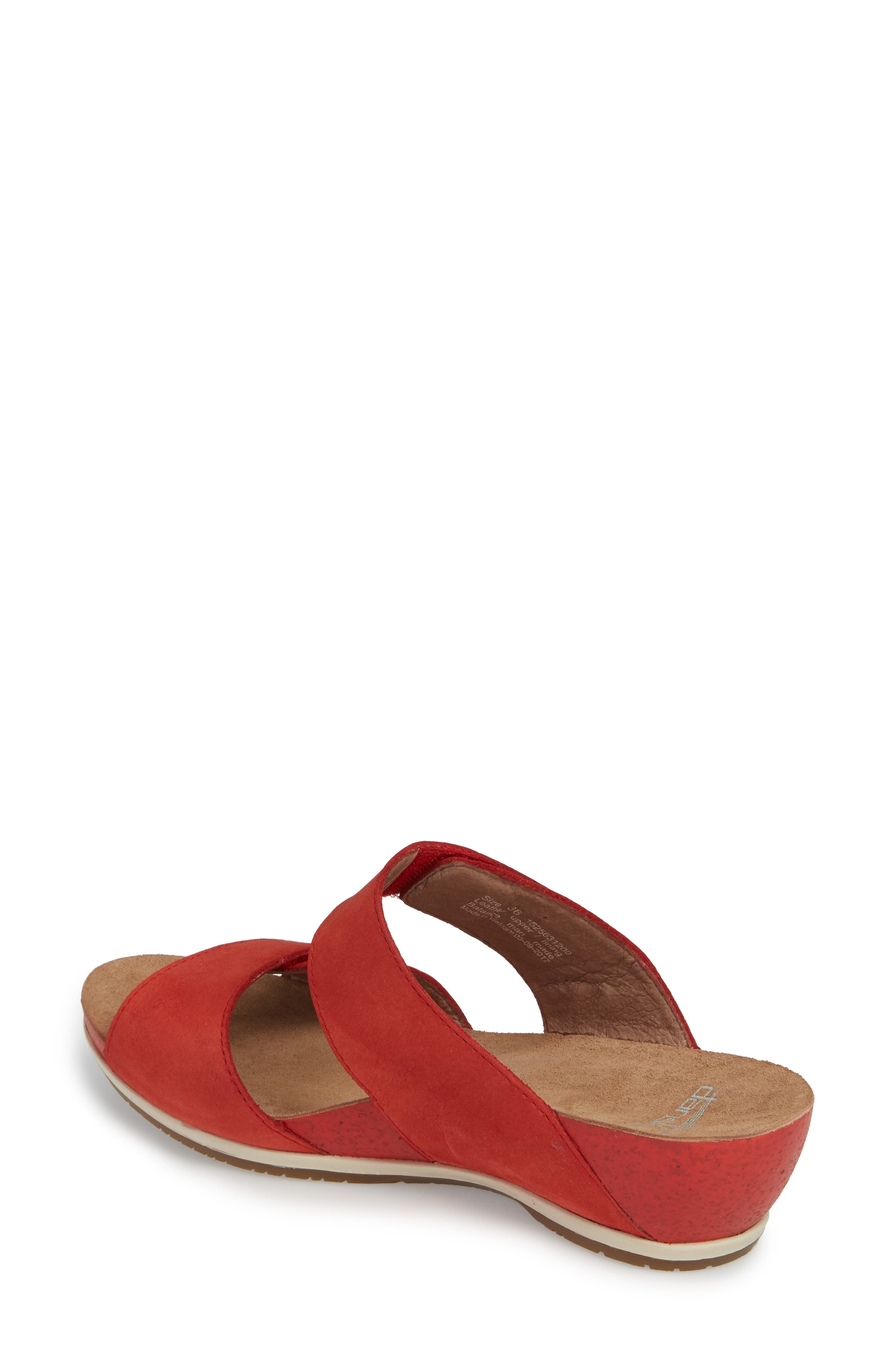 Vienna Slide Sandal,                             Alternate thumbnail 9, color,