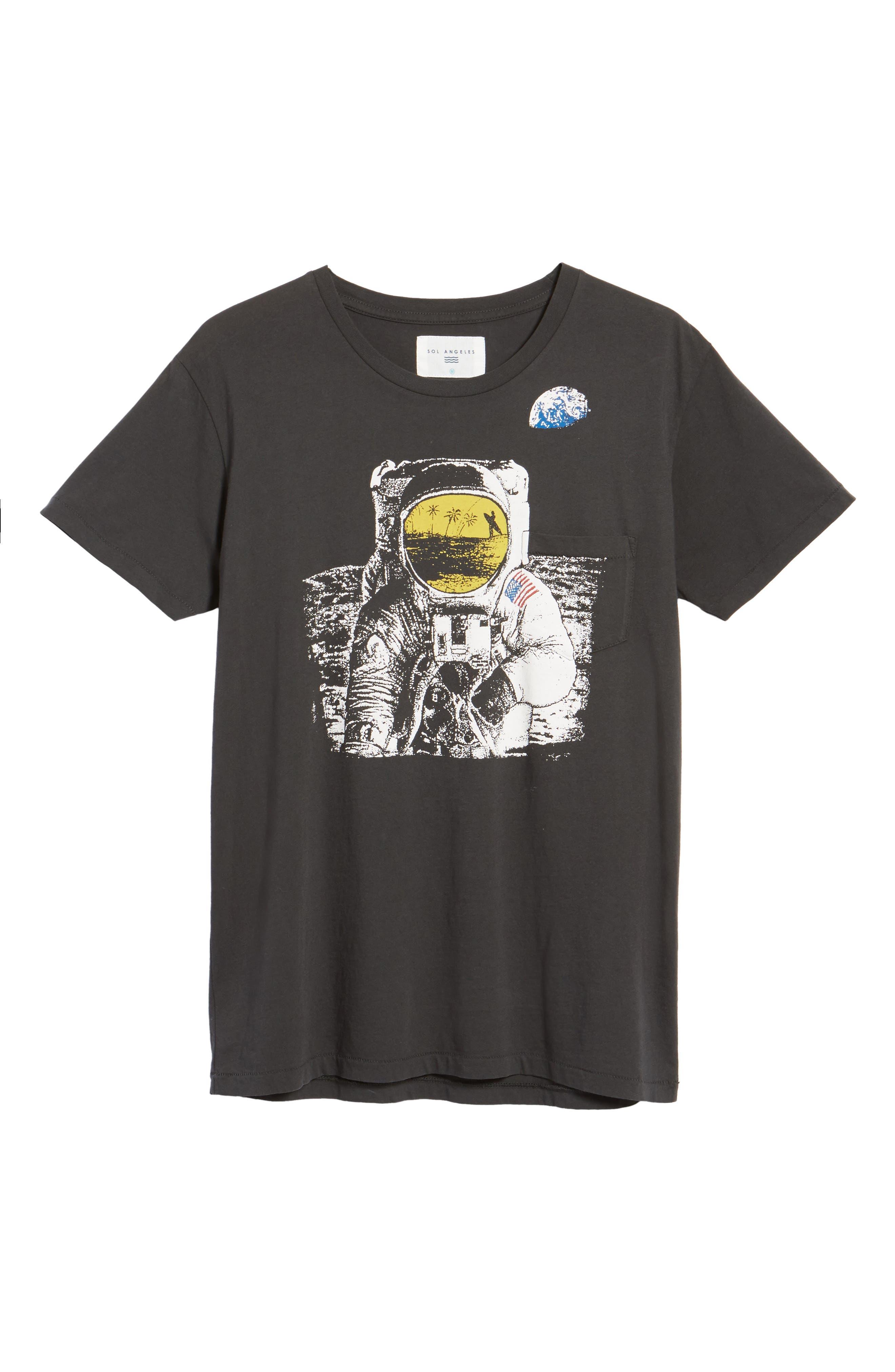 Space Dream Pocket T-Shirt,                             Alternate thumbnail 6, color,