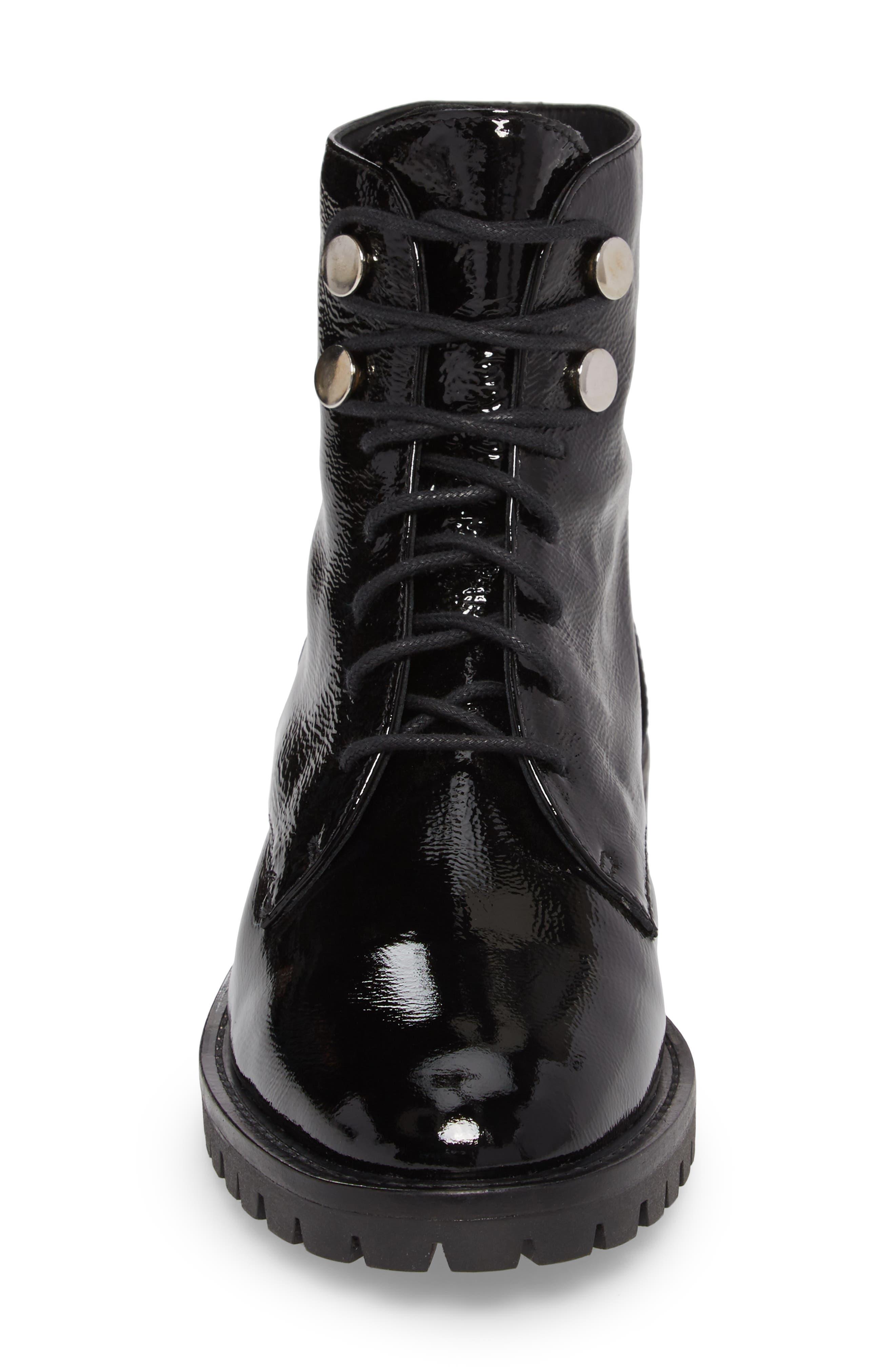 Francesca Lace-Up Boot,                             Alternate thumbnail 4, color,