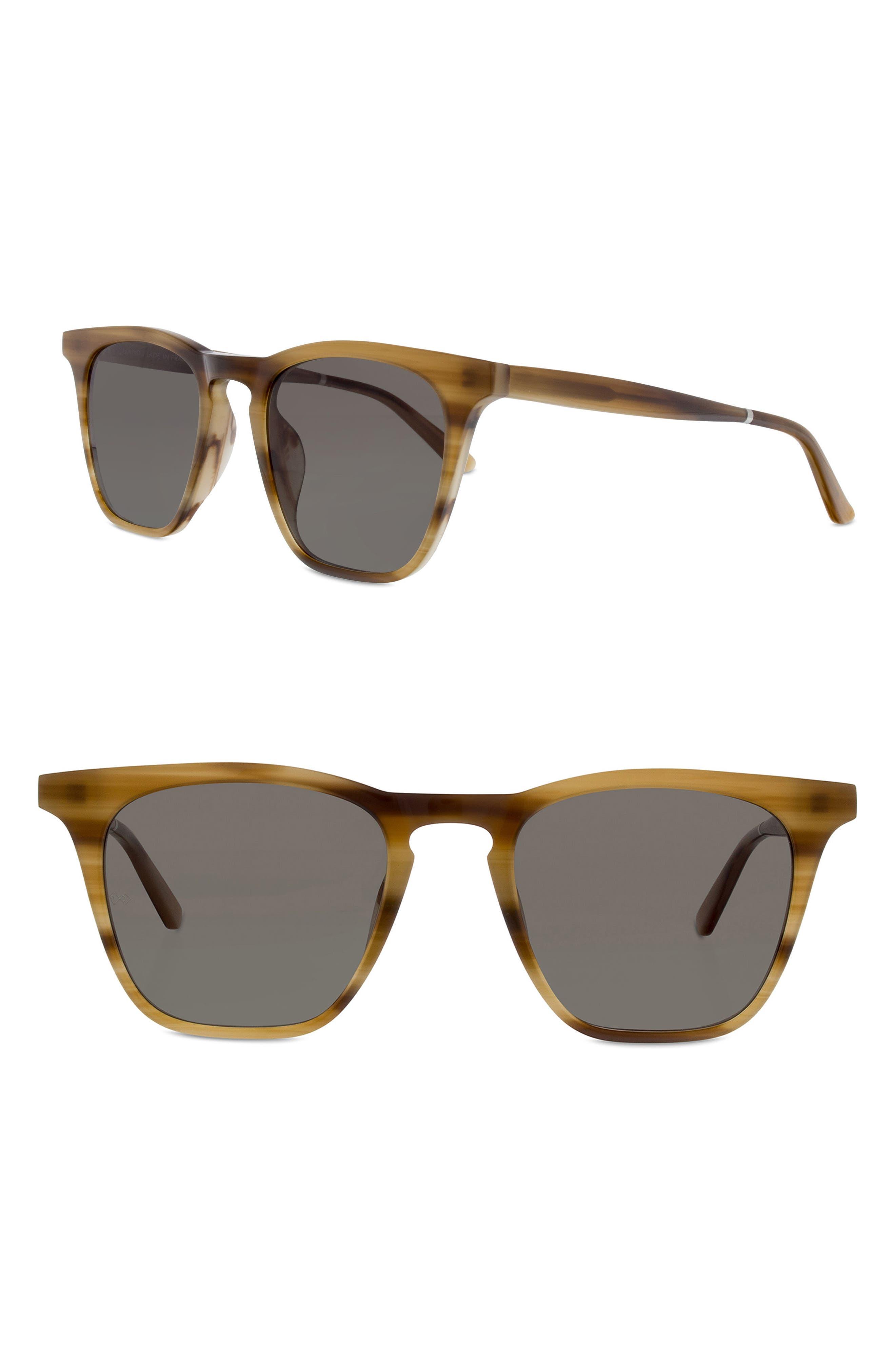 Rocket 88 50mm Square Sunglasses,                             Main thumbnail 4, color,