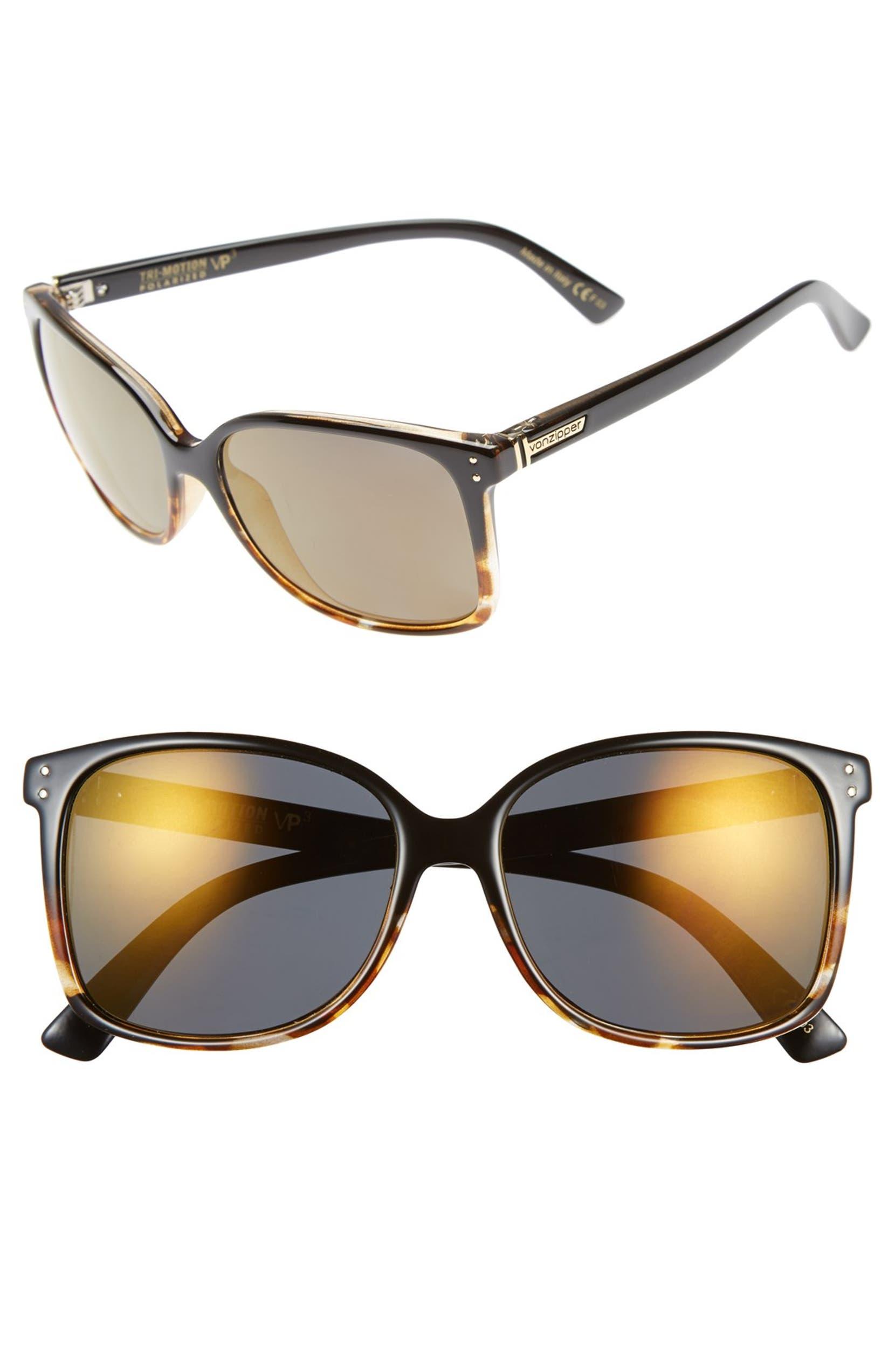 b4db394e7b1 VonZipper  Castaway  58mm Polarized Sunglasses