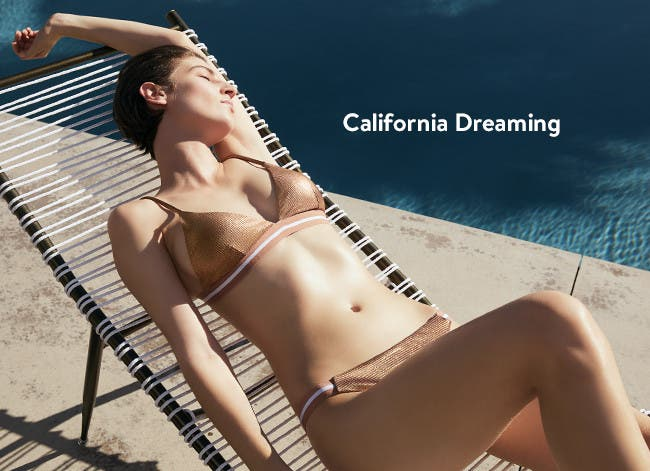 California dreaming: women's vacation clothing.
