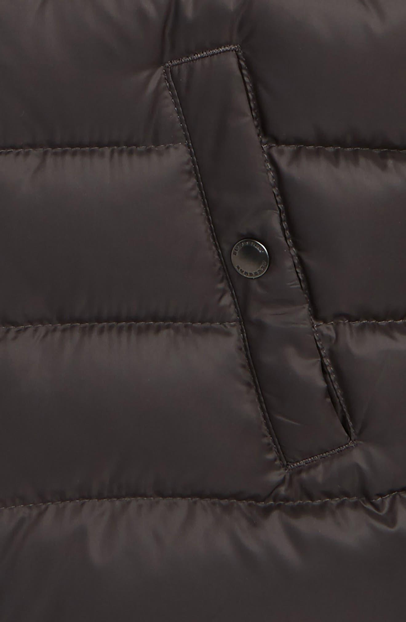 Mini Carlton Quilted Down Vest,                             Alternate thumbnail 2, color,                             026