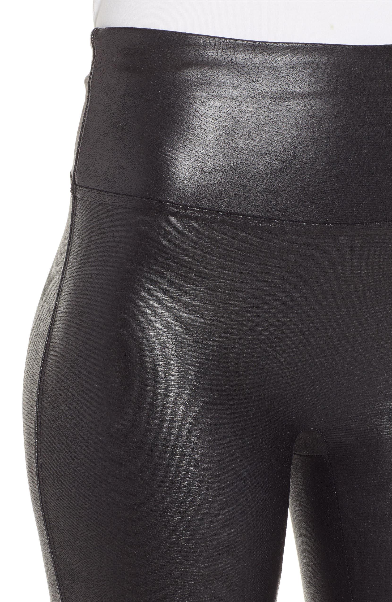 70c975f3ca77 SPANX® Faux Leather Bike Shorts