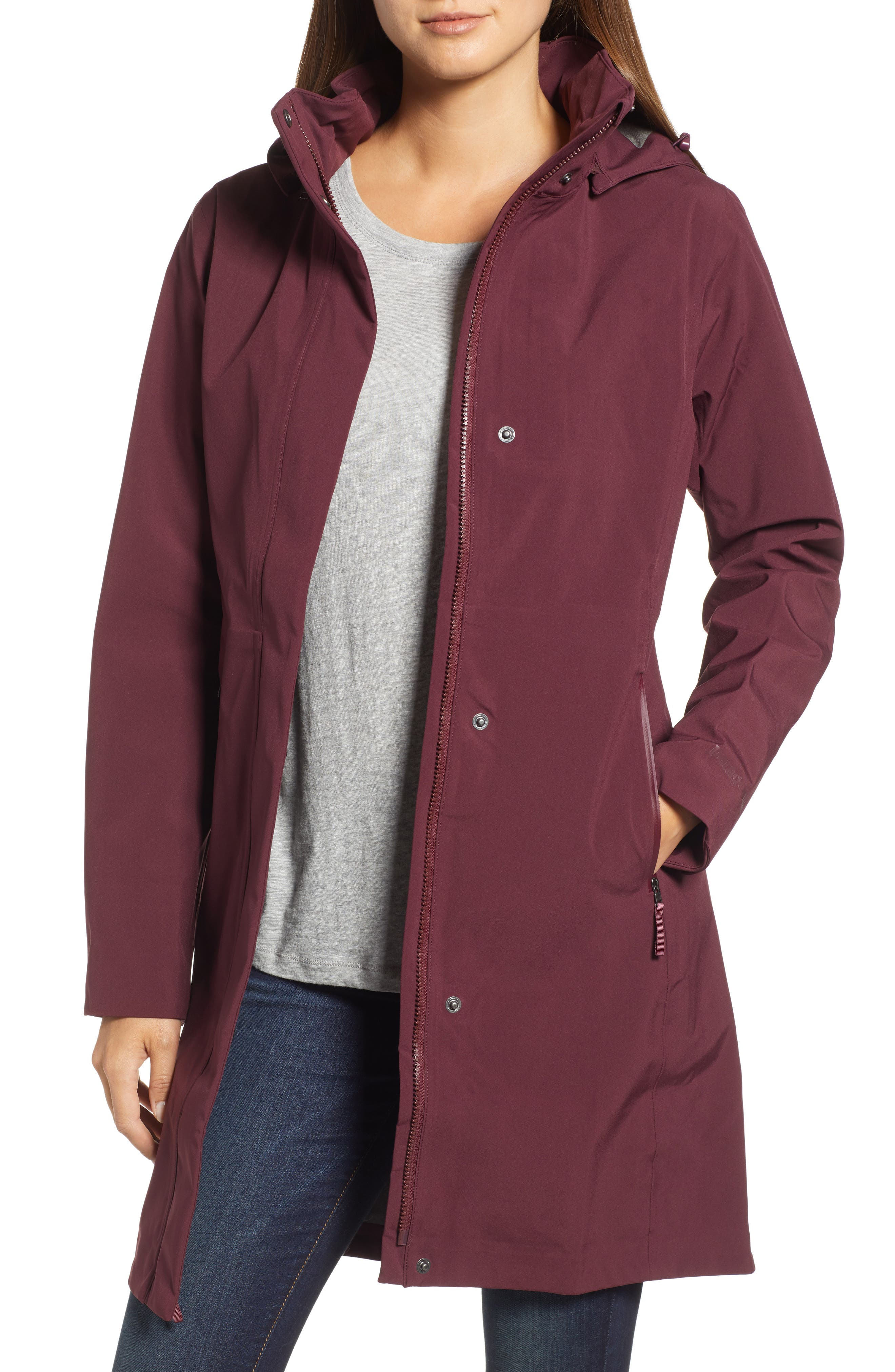 Lash Point Water Resistant Hooded Parka,                             Main thumbnail 3, color,