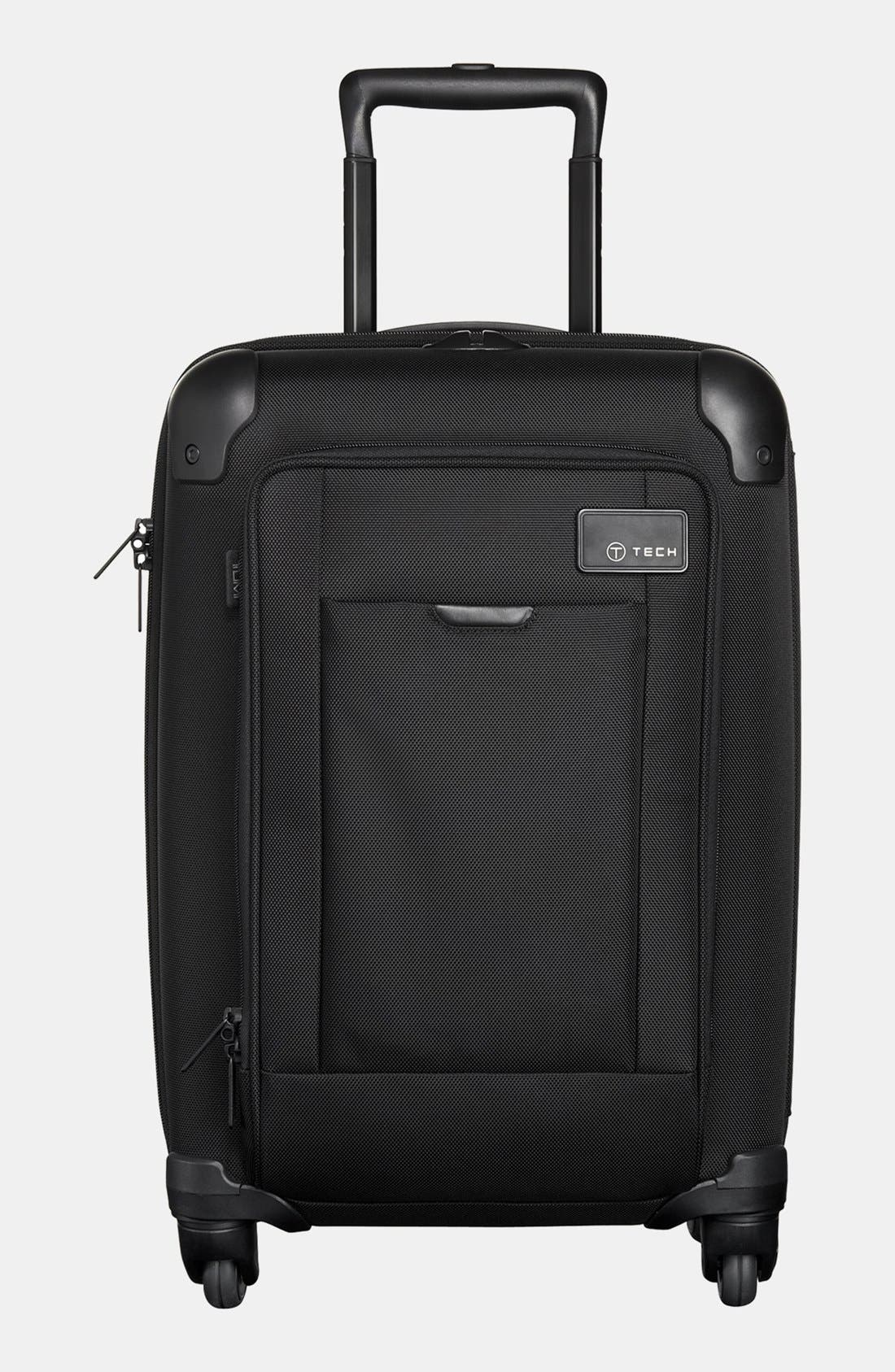 TUMI,                             'T-Tech Network' Lightweight Wheeled International Carry On,                             Main thumbnail 1, color,                             001