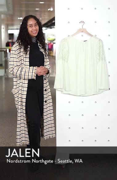 Lace Bell Sleeve Top, sales video thumbnail