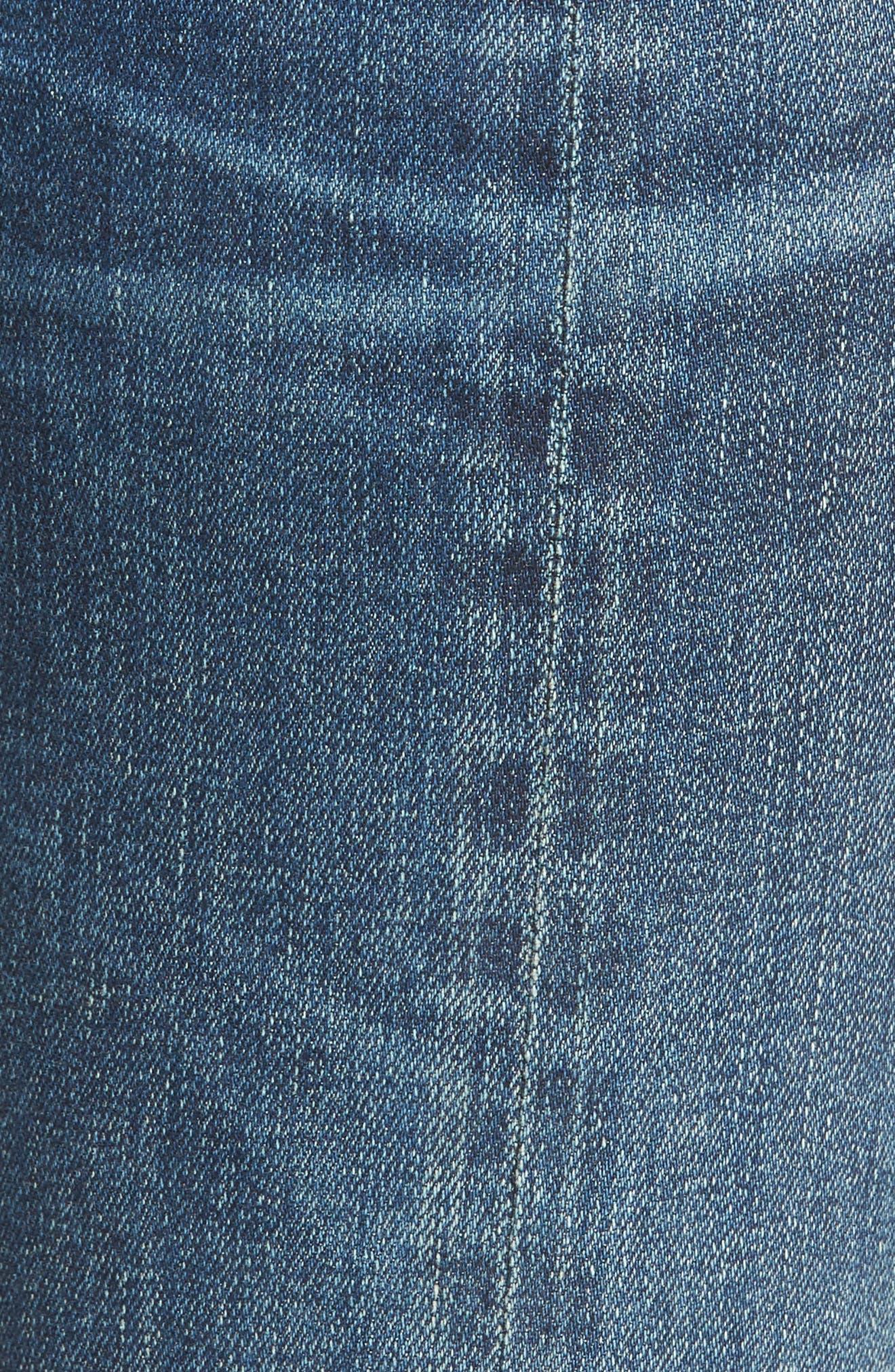 Amari Step Hem Ankle Jeans,                             Alternate thumbnail 5, color,                             429