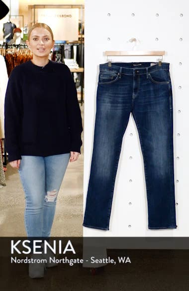 Marcus Slim Straight Leg Jeans, sales video thumbnail