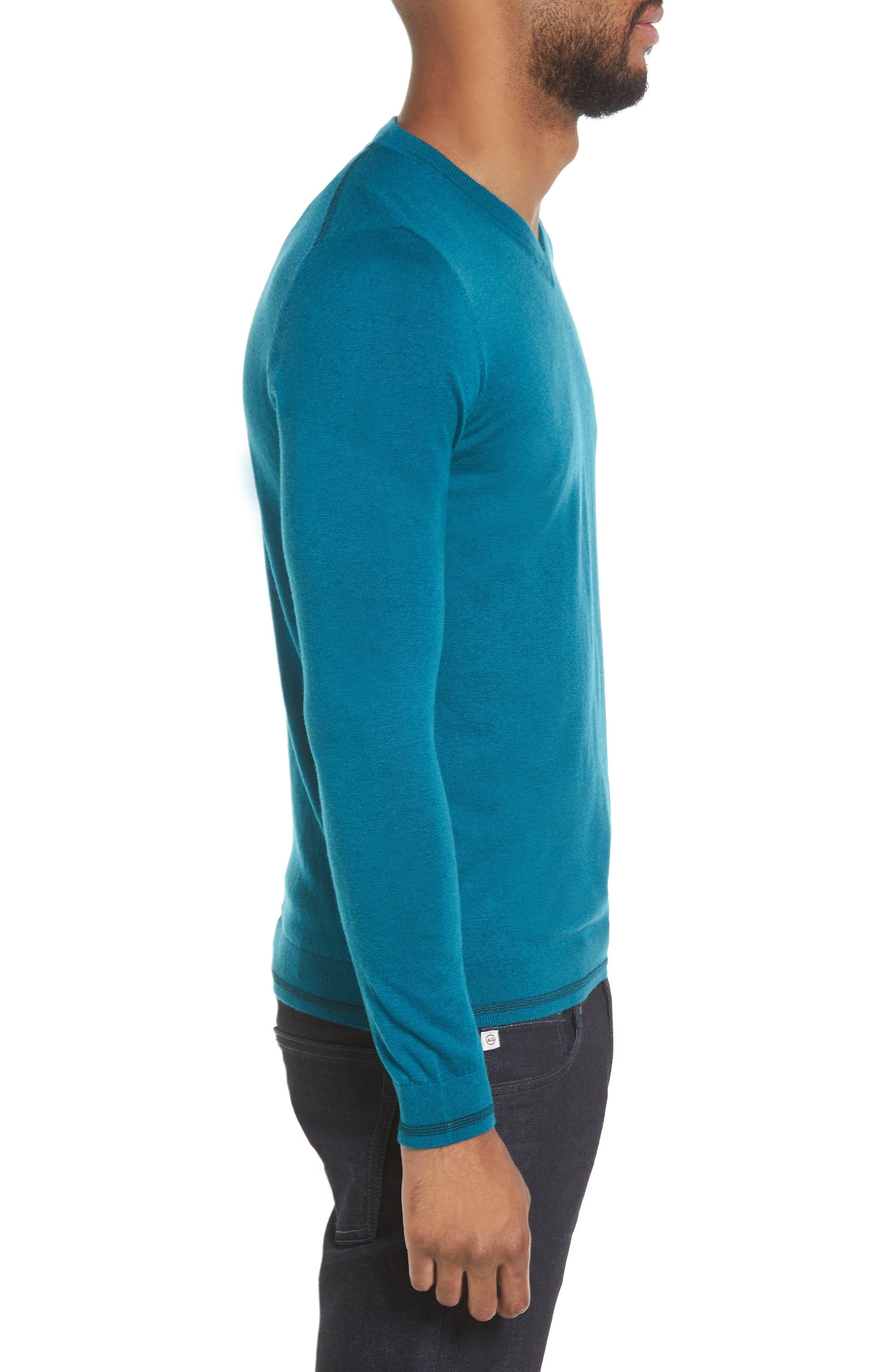V-Neck Sweater,                             Alternate thumbnail 11, color,