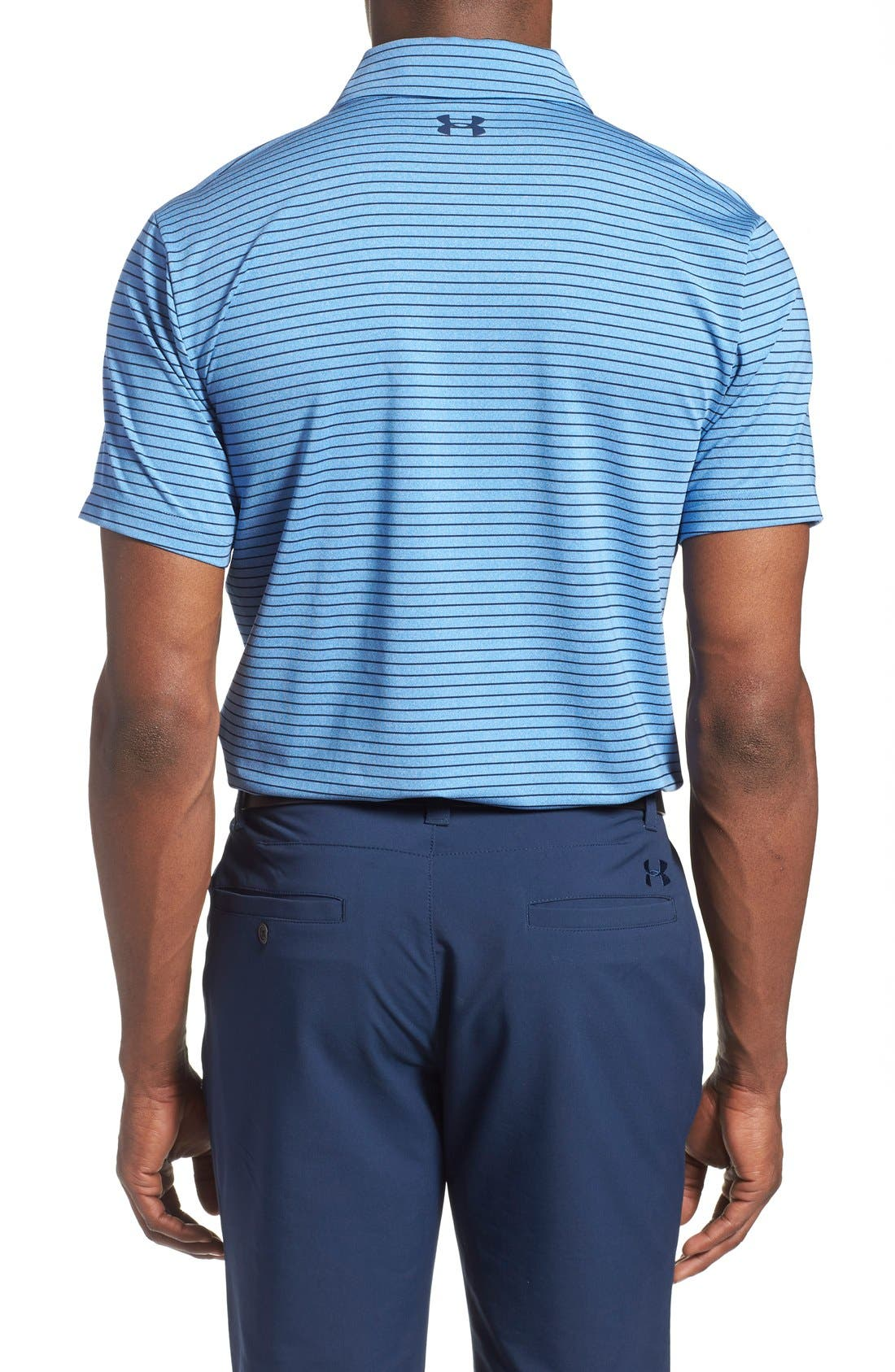 'Playoff' Loose Fit Short Sleeve Polo,                             Alternate thumbnail 153, color,