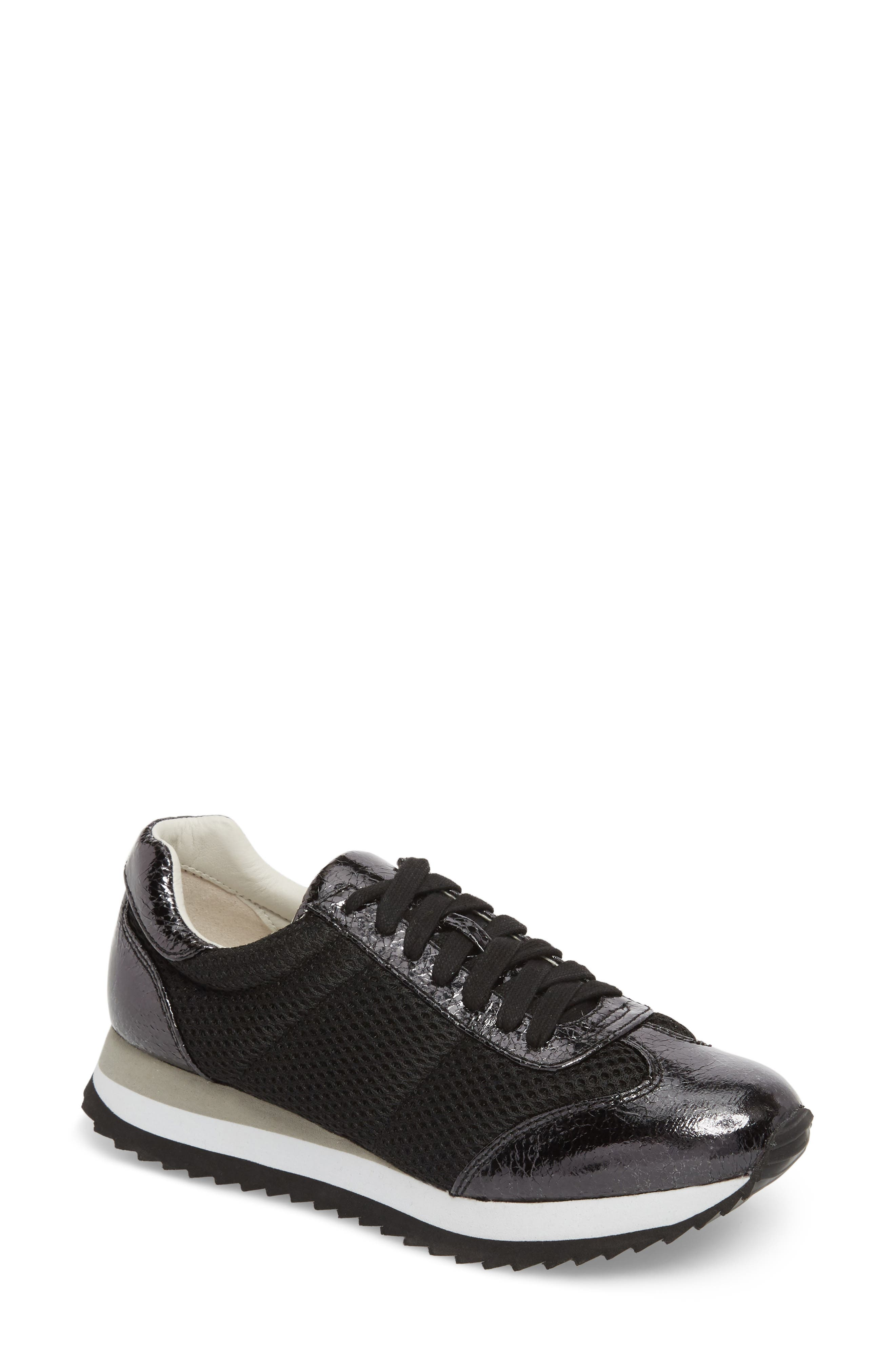 JANE AND THE SHOE Jaclyn Mesh Sneaker, Main, color, 001