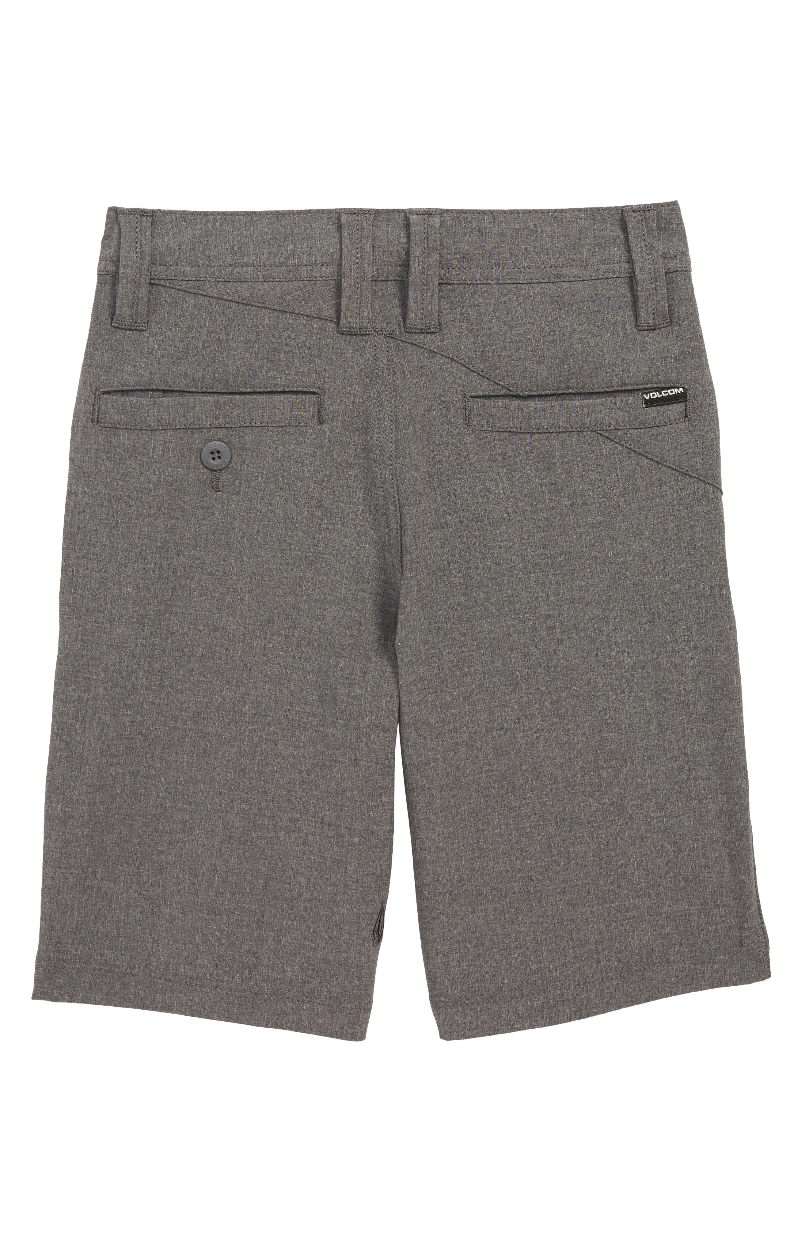 Frickin Surf N' Turf Static Hybrid Board Shorts,                             Alternate thumbnail 2, color,                             CHARCOAL HEATHER